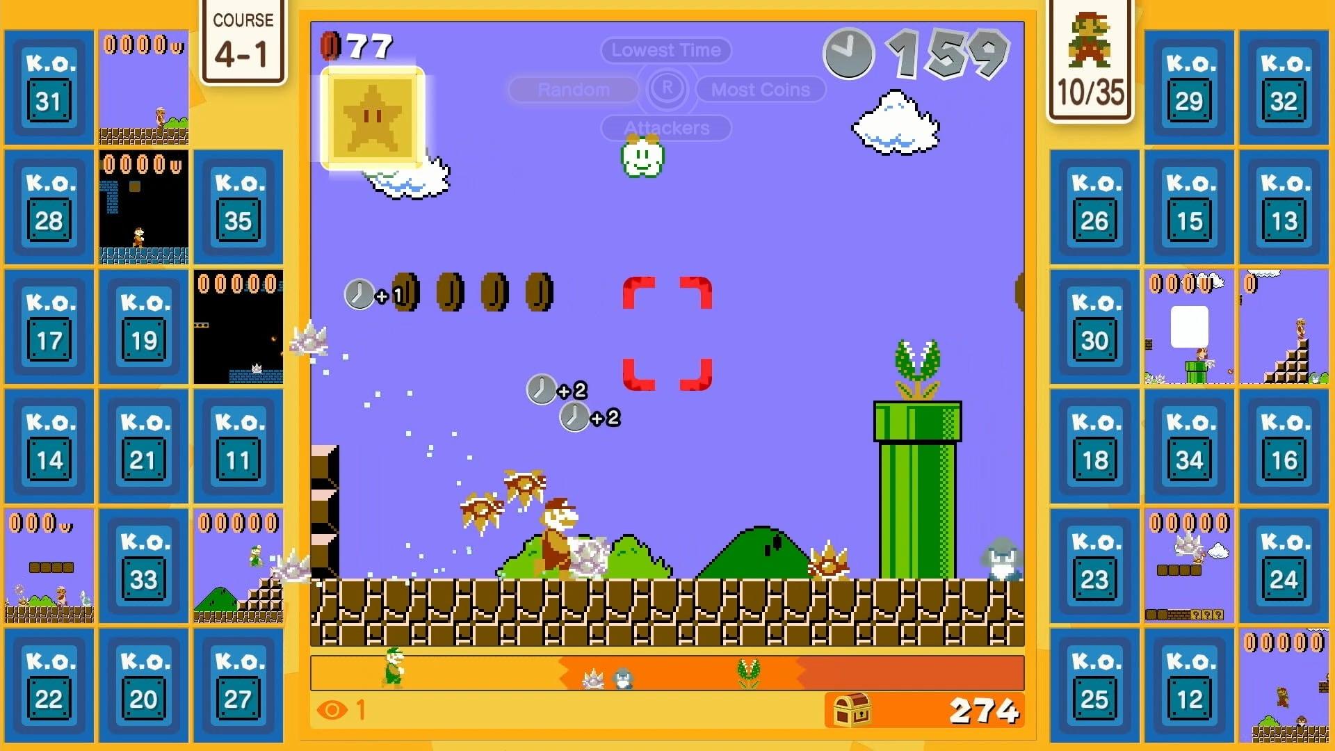Mario 35 release time