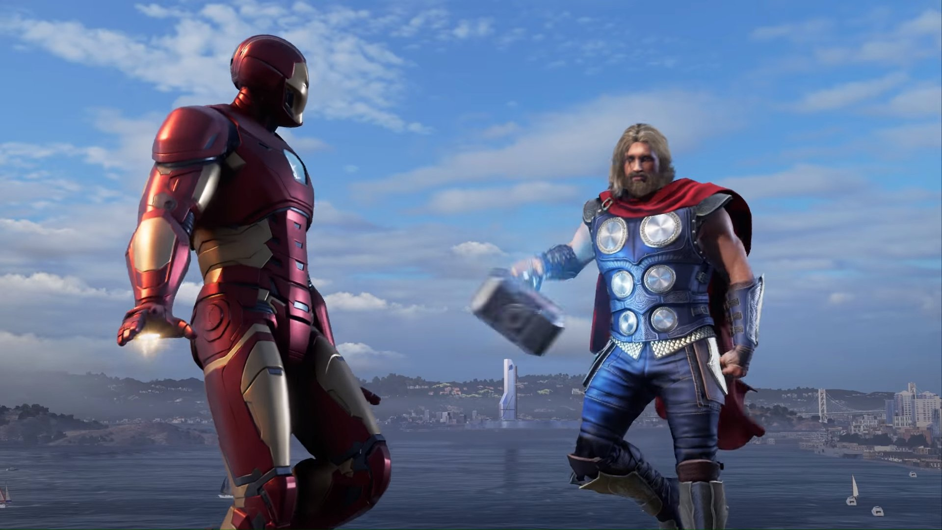 Marvel's Avengers lets players team up online with up to three other players.