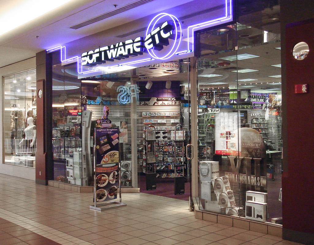 A Software, Etc. storefront.