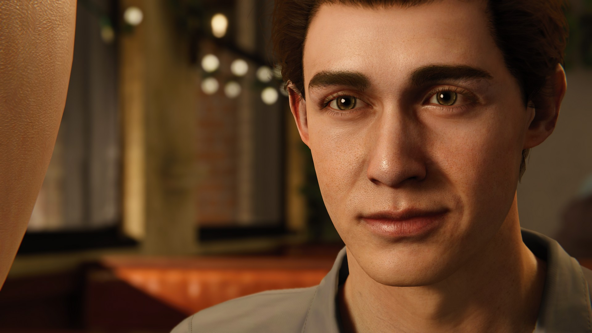 The original face for Peter Parker in Marvel's Spider-Man, as modeled after John Bubniak.