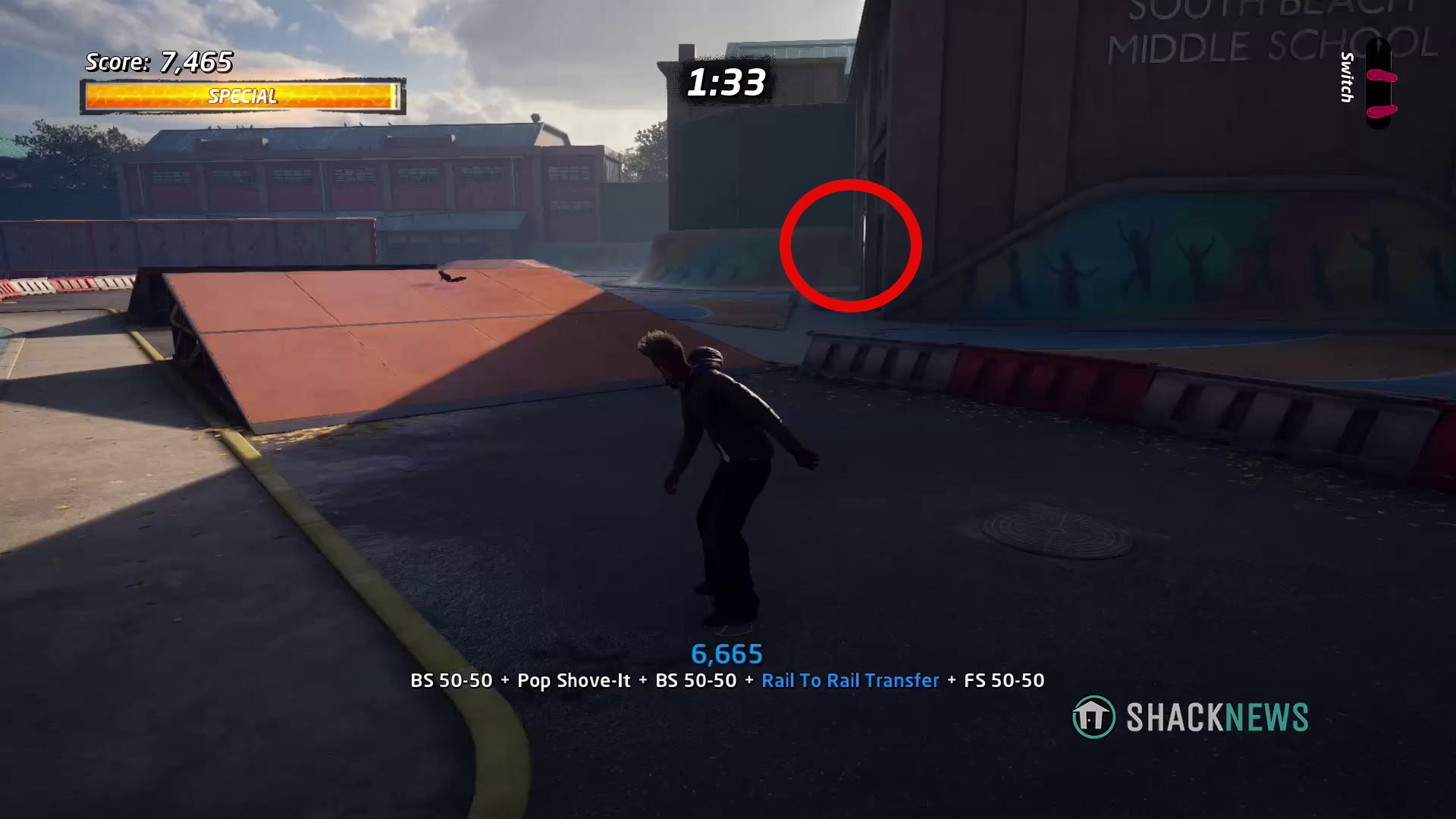 School bell locations - Tony Hawk's Pro Skater 1+2 Bell #2