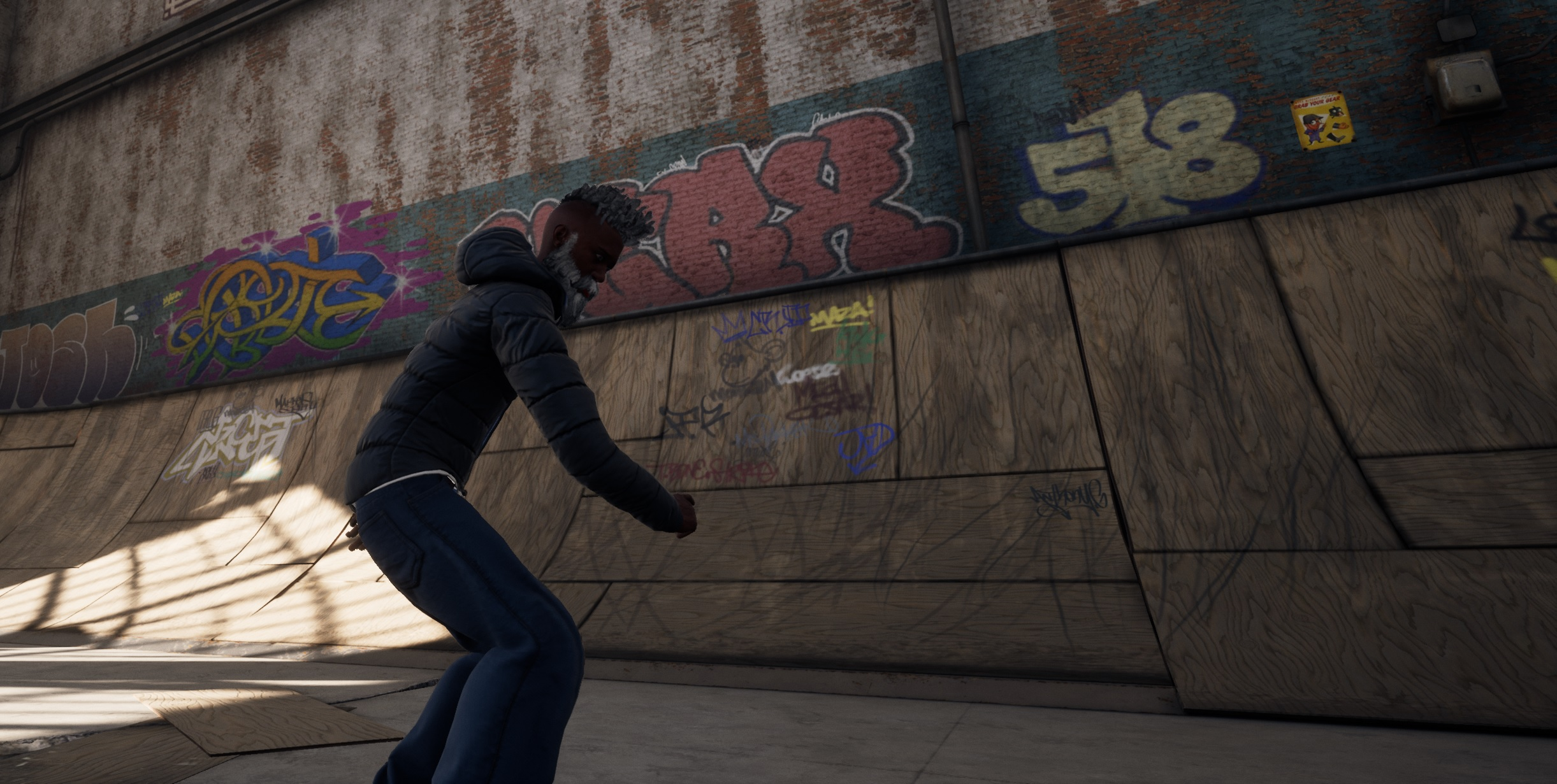 THPS 1+2's Create-a-Skater feature allows players to create a variety of playable characters, like my good buddy Earl Divx.