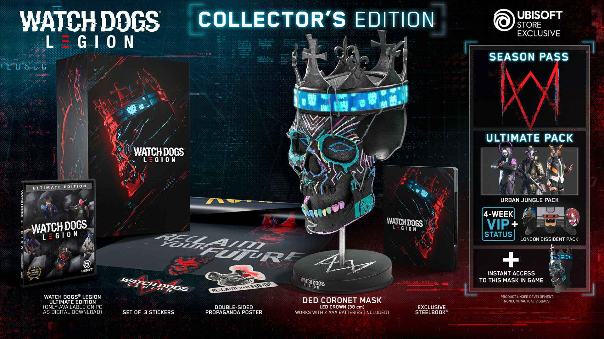 Watch Dogs: Legion collector's edition
