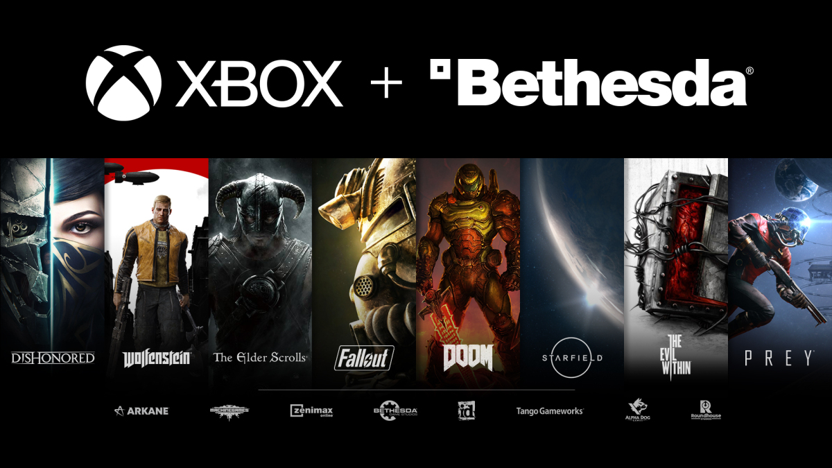 Bethesda's library of games will be joining Xbox Game Pass.