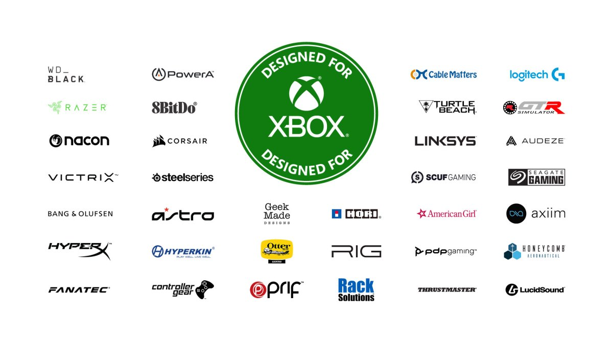 Microsoft has partnered with over 34 brands to bring licensed accessories to the Xbox Series X.