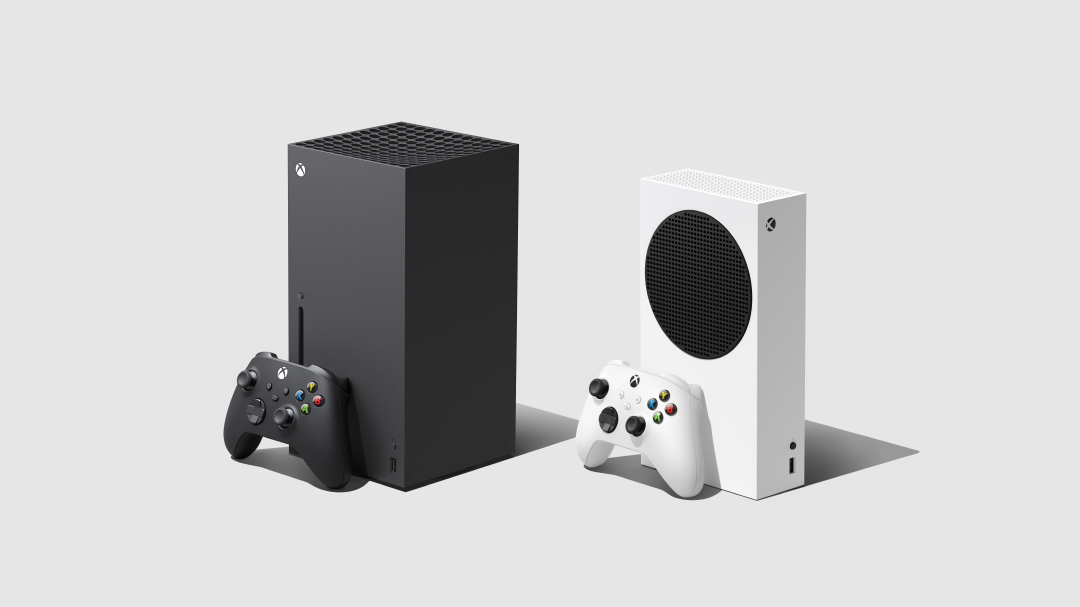 Xbox Series X preorder - side by side with the Xbox Series S