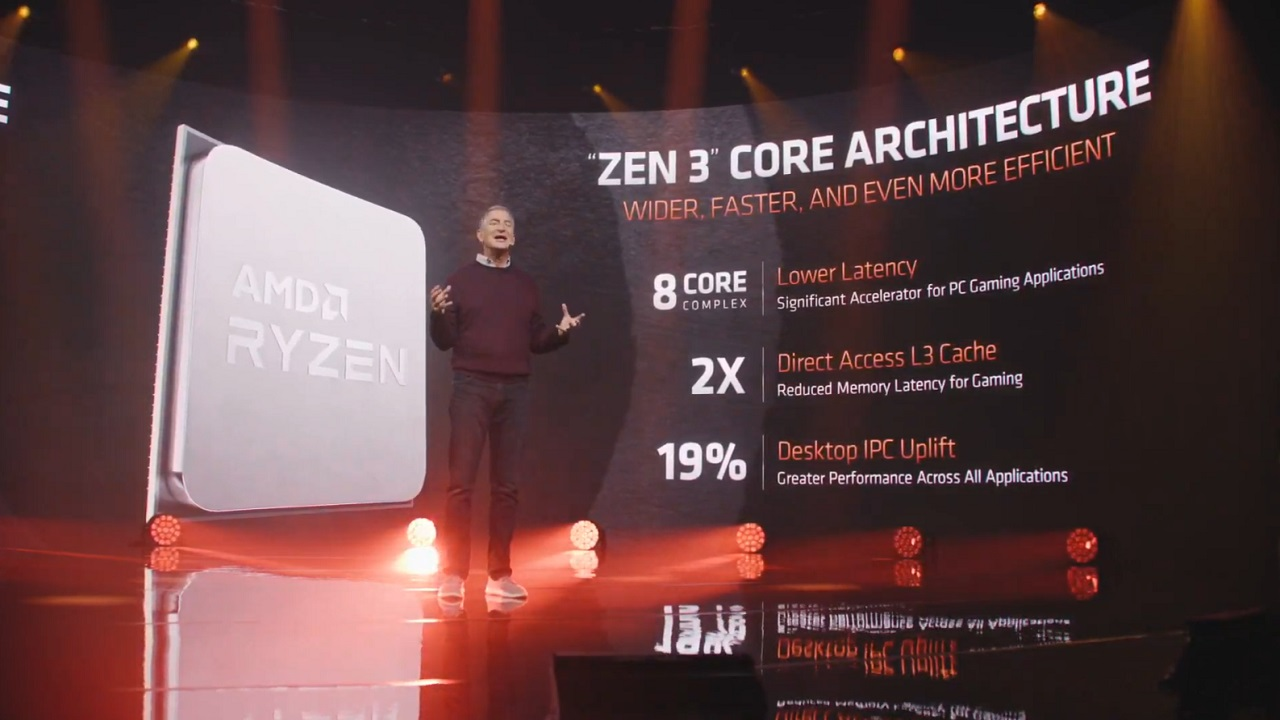 With a boasted 19% performance over Zen 2-based CPUs, the Zen 3 is looking like a potent step forward for AMD and its upcoming technology.