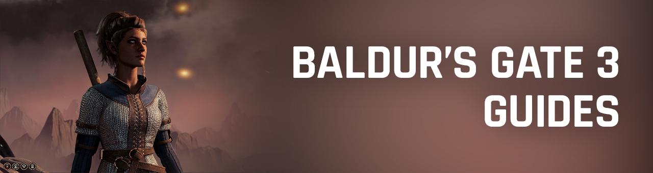 Baldur's Gate 3 guides