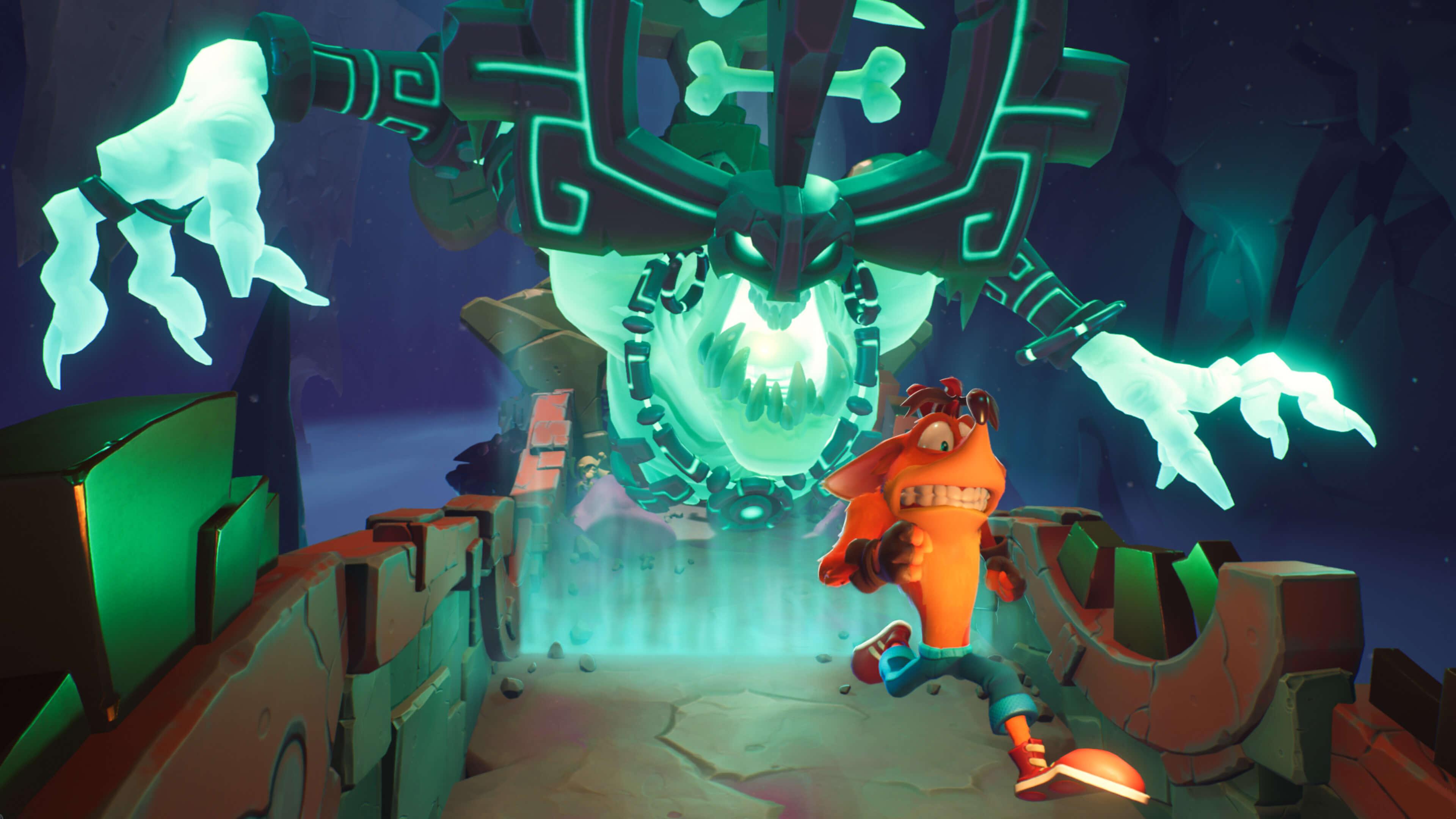 Best Ps4 games of 2020 - Crash 4