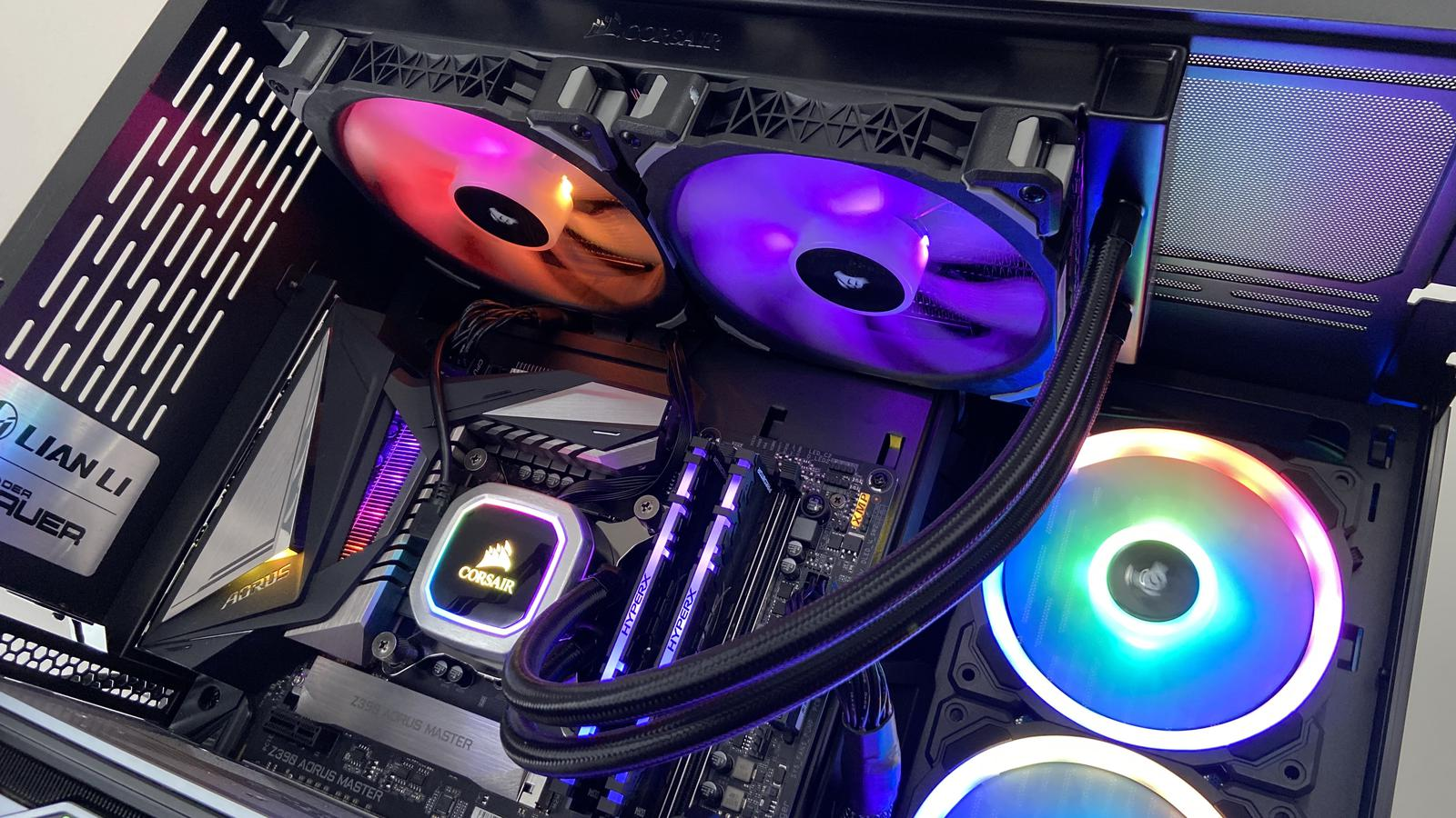 The Corsair H115I comes with RGB fans. (Photo by XenonGX at PCPP) by