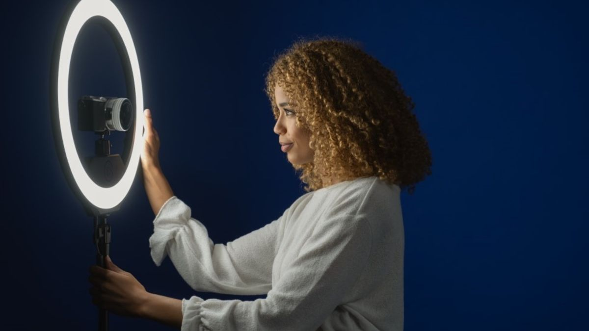 The Elgato Ring Light has several great control options