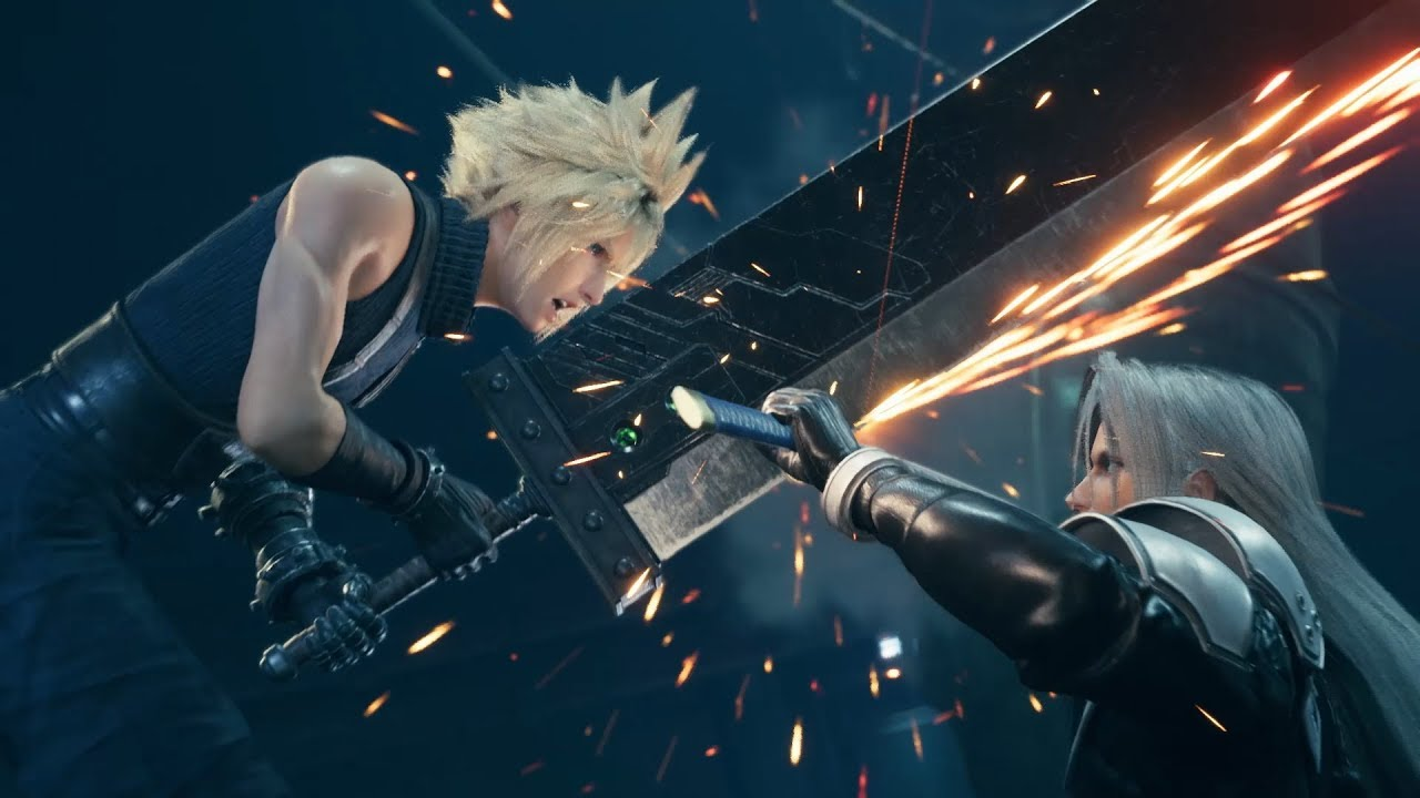 Best Ps4 games of 2020 - Final Fantasy 7 Remake