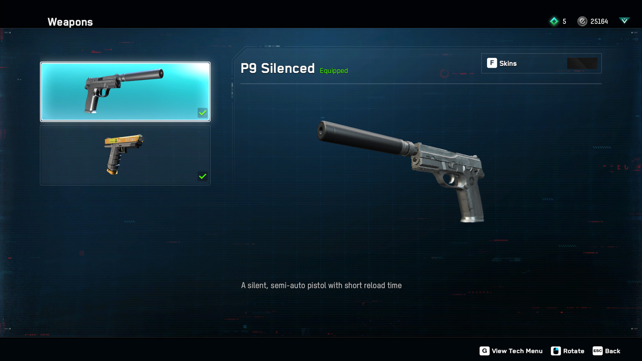Skilled Operatives can unlock special items like silence guns and more