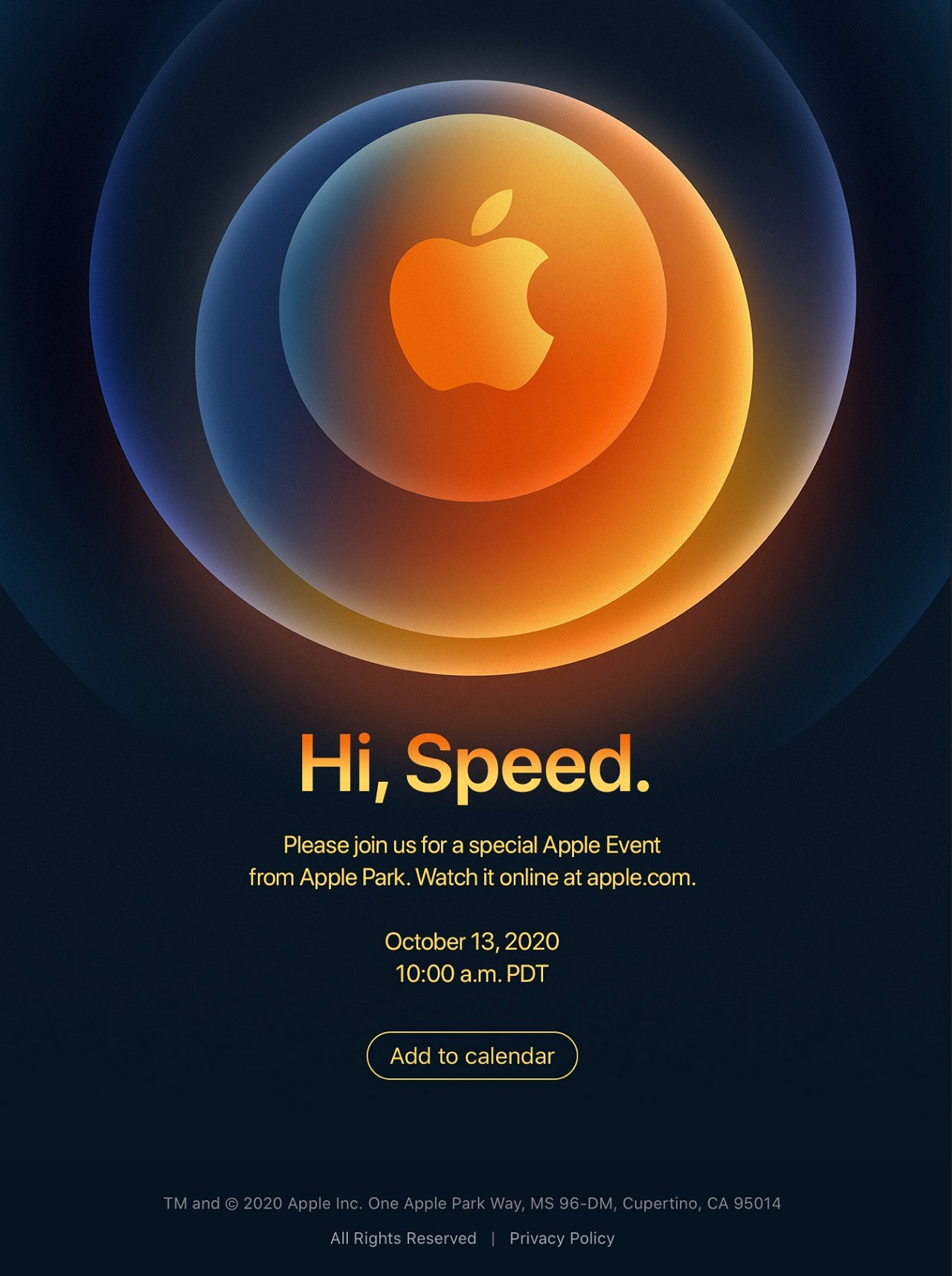 The latest Apple Event livestream presentation on October 13 is expected to show the upcoming iPhone 12.