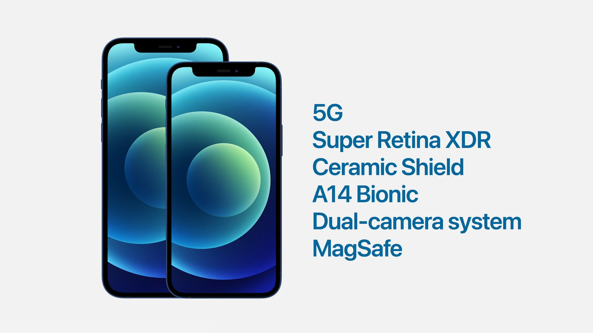Which iPhone models support 5g