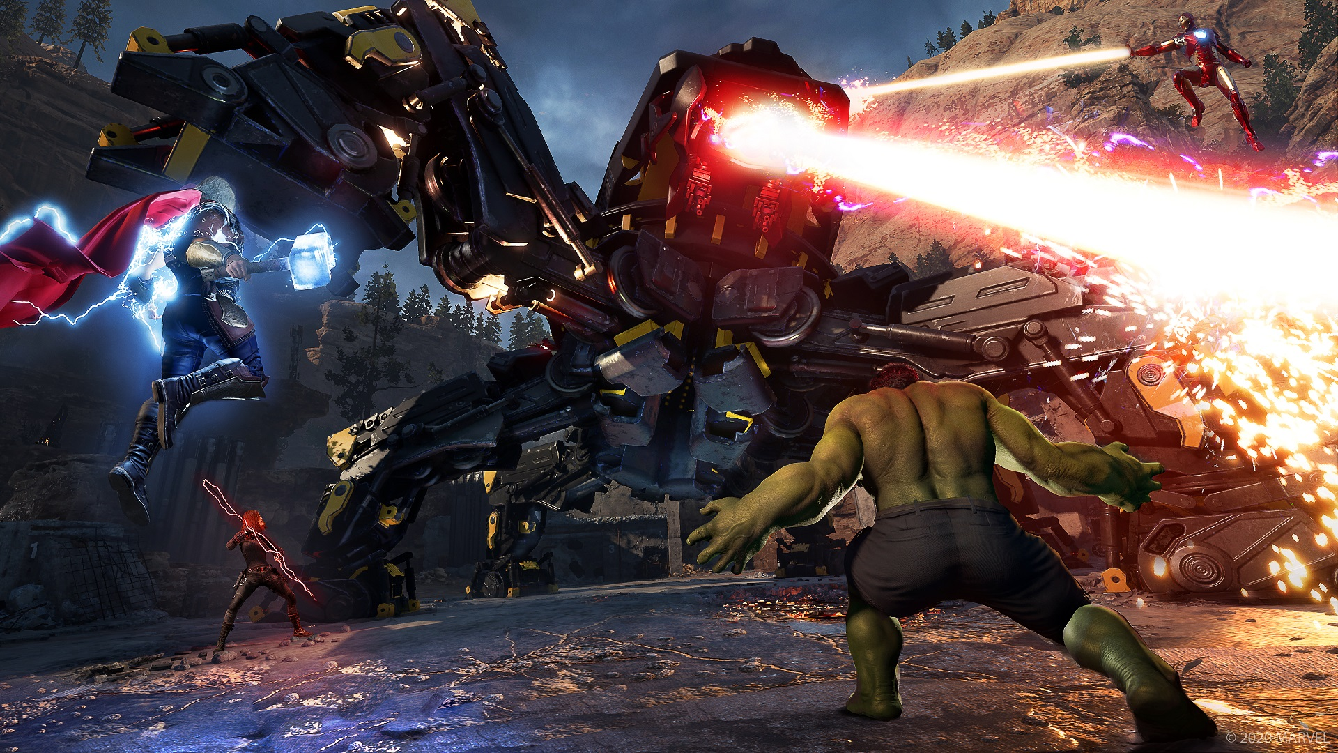 Avengers: Marvel's Avengers next-gen versions delayed until next year