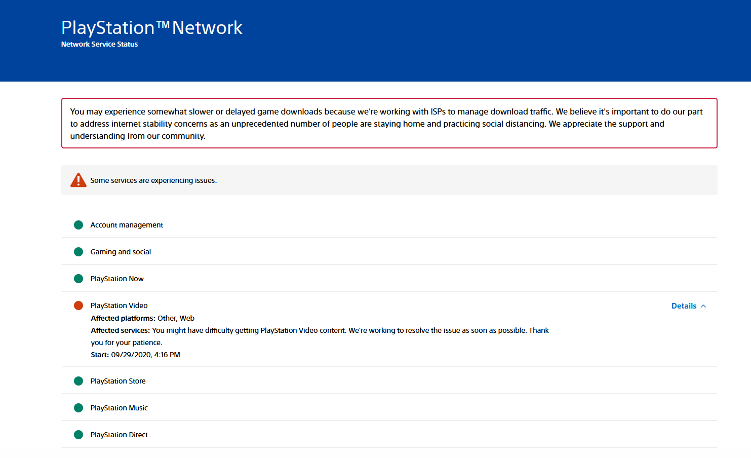 PlayStation Network Server Status - is PSN Down?
