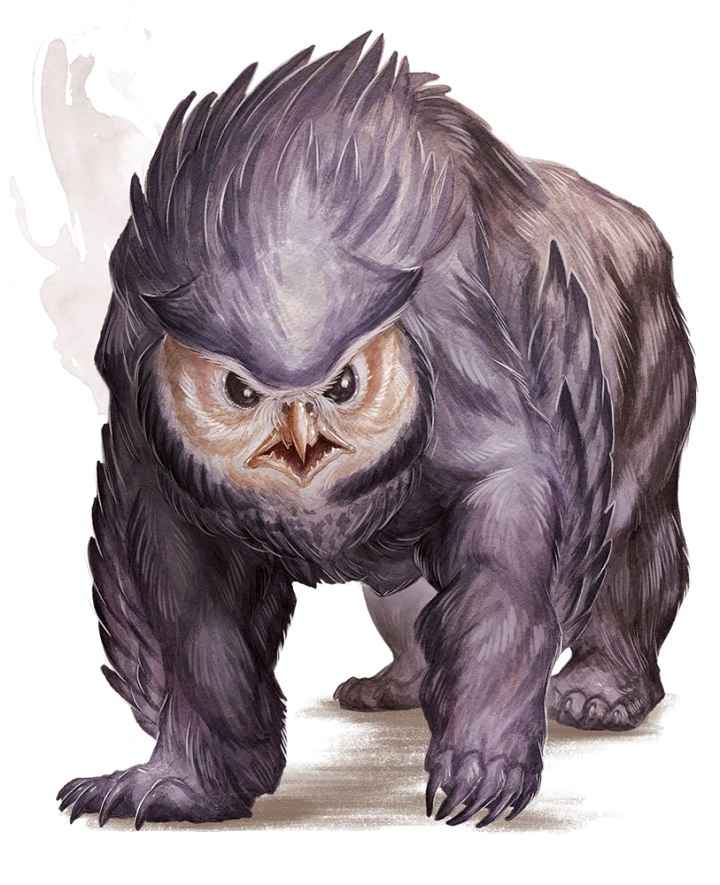 Another Owlbear pic