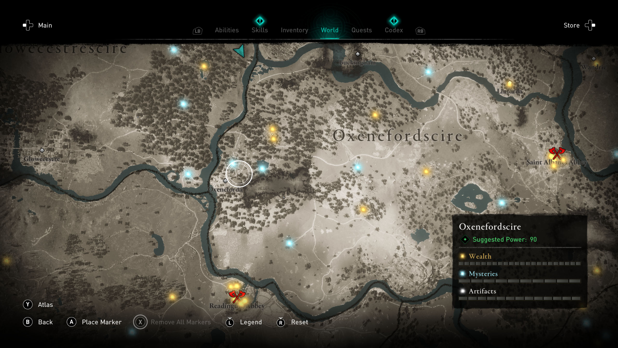 Order of the Ancients locations - AC Valhalla - The Anvil