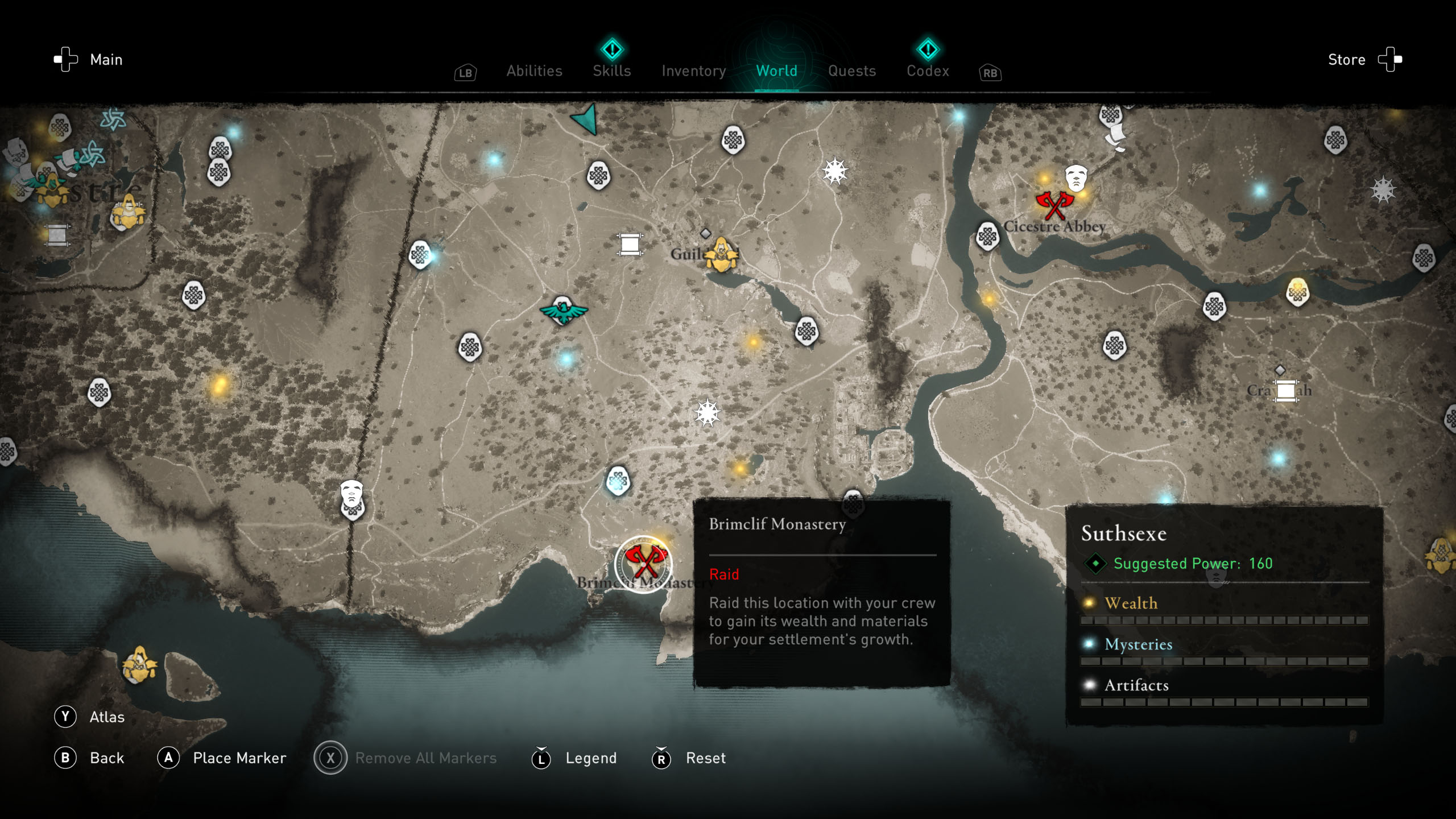 Order of the Ancients locations - AC Valhalla - The Bell