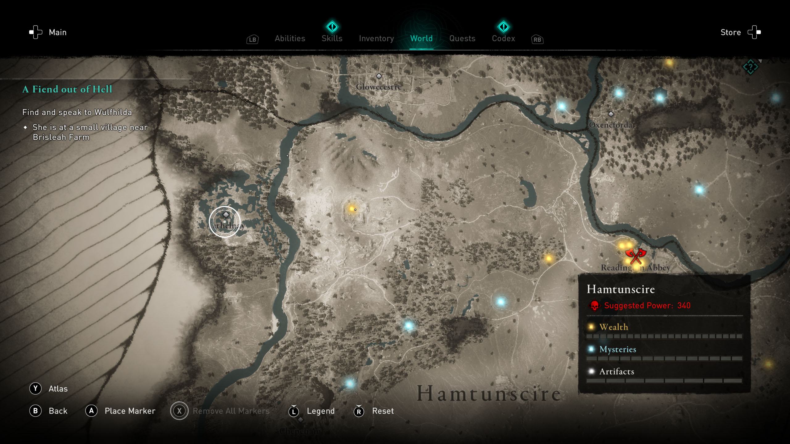 Order of the Ancients locations - AC Valhalla - The Father