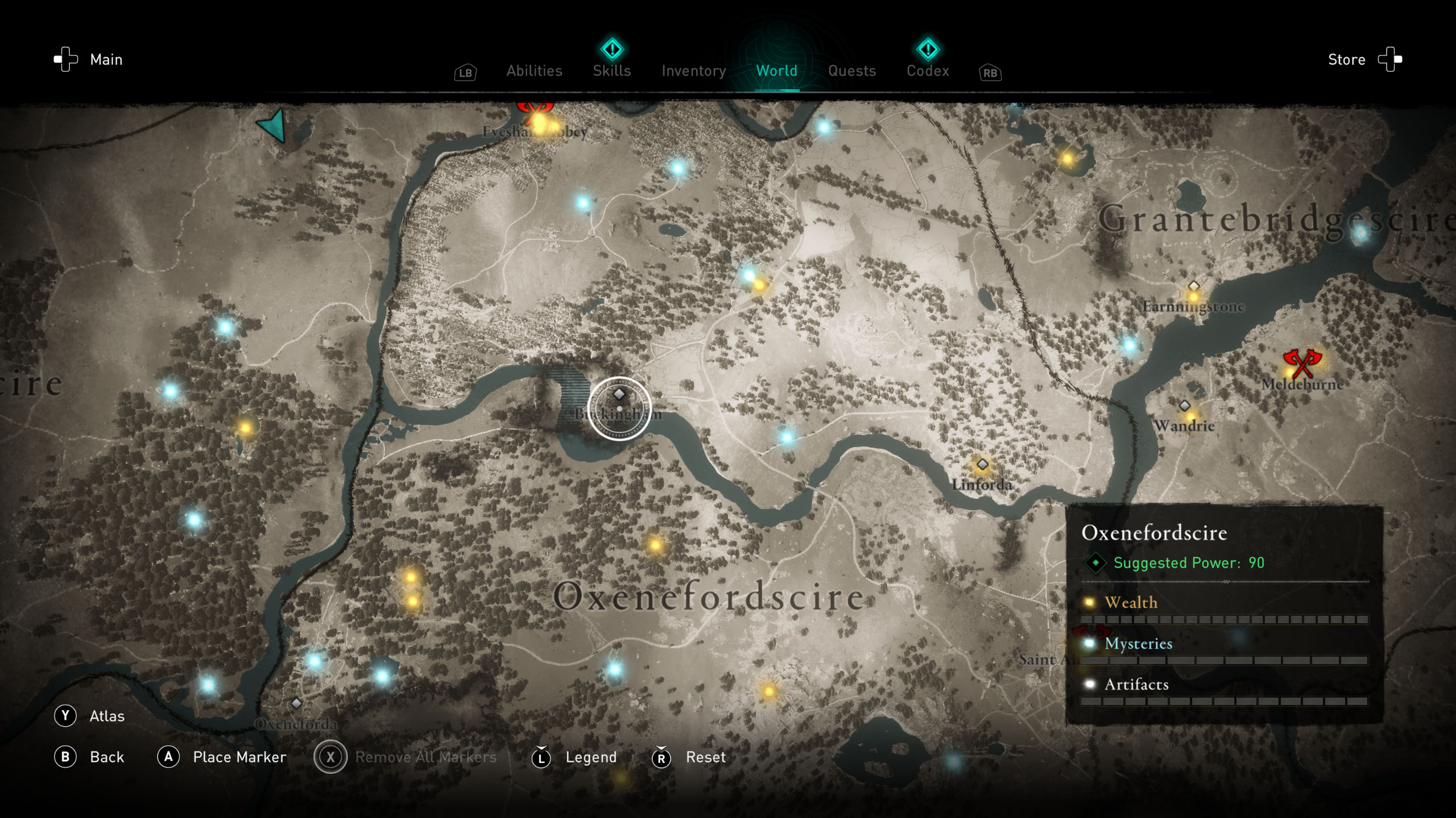 Order of the Ancients locations - AC Valhalla - The Lathe