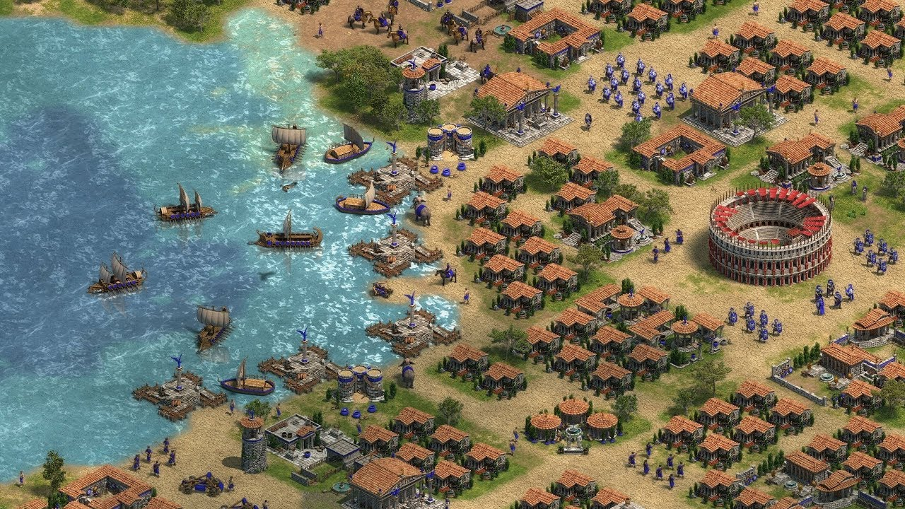 Age of Empires: Definitive Edition, an HD remaster of the 1997 original.