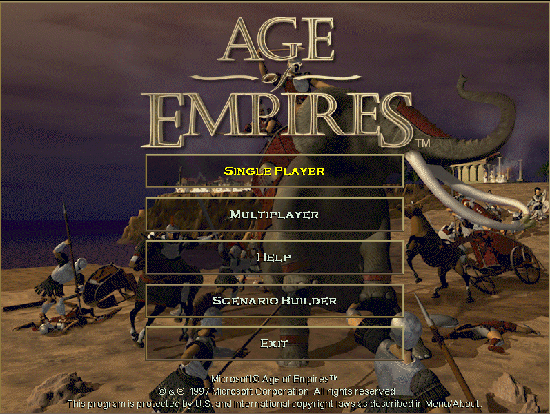 Age of Empires.