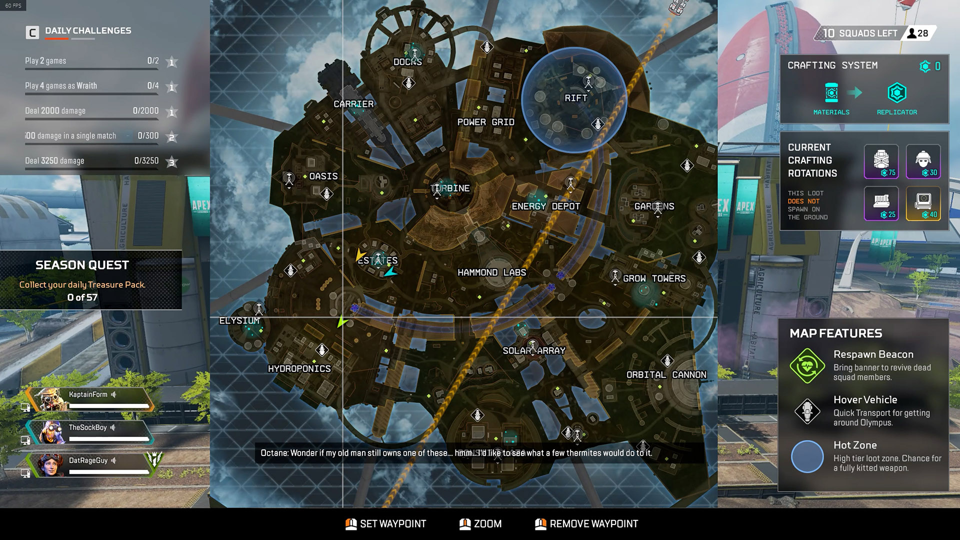 Best places to land on Olympus - Apex Legends - hydroponics