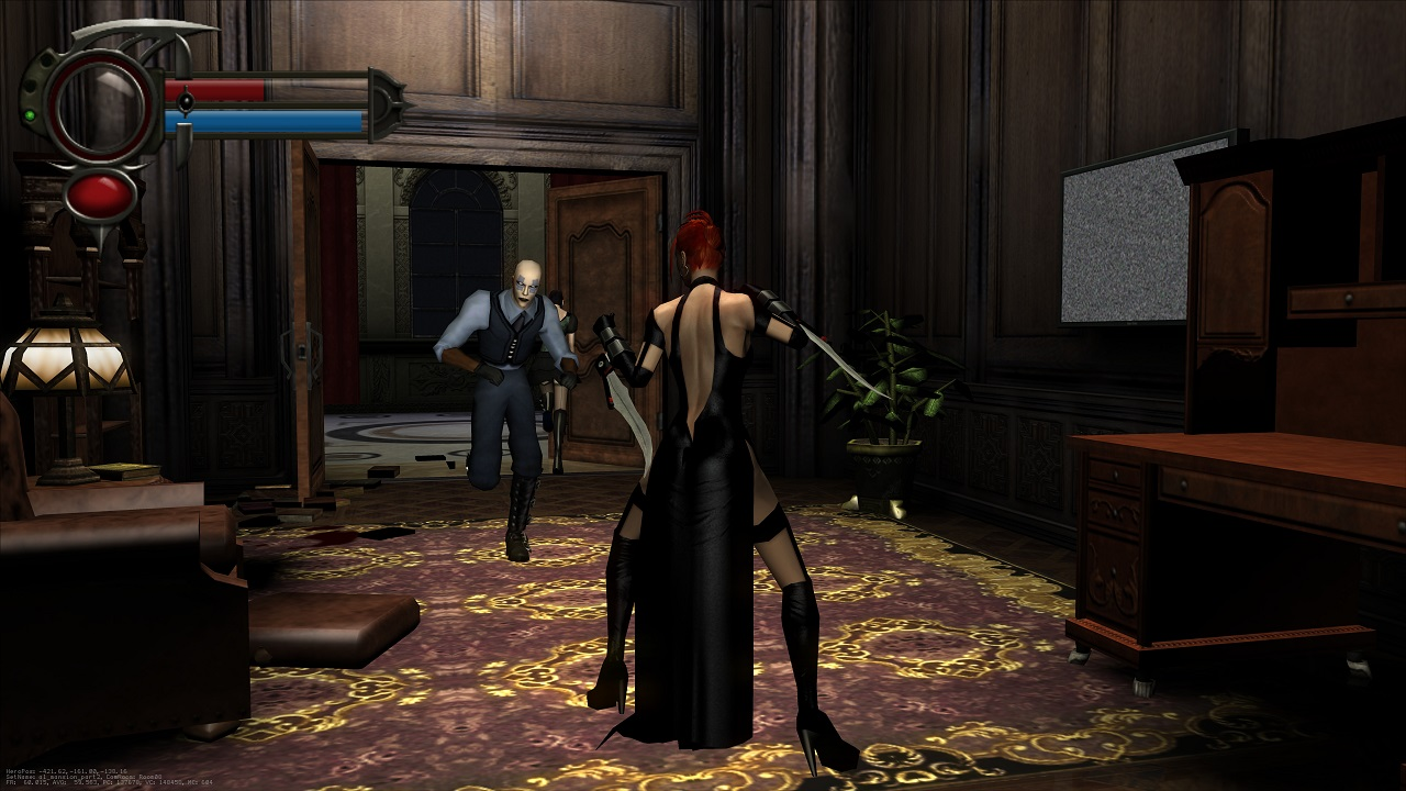 Both BloodRayne and BloodRayne 2 have received a wealth of updates to make them look sleek on modern systems even as players explore the brutal action of the classic games.