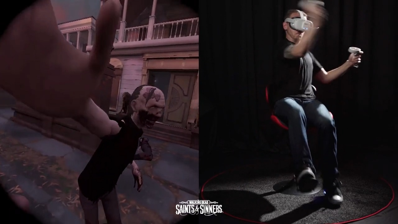 By giving movement back to your legs, Cybershoes for Oculus Quest removes you from the clutter of bulky wires and alleviates motion sickness with more natural movement.