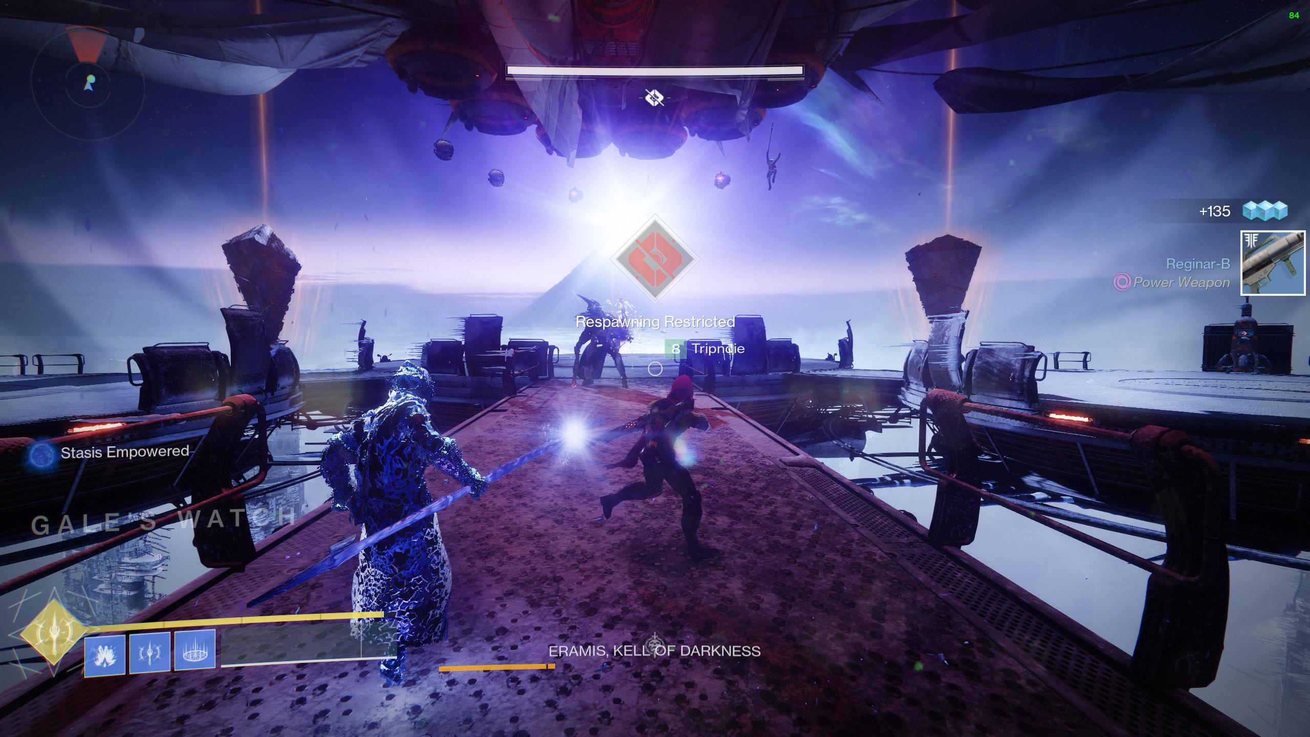 destiny 2 beyond light the kell of darkness defeat eramis