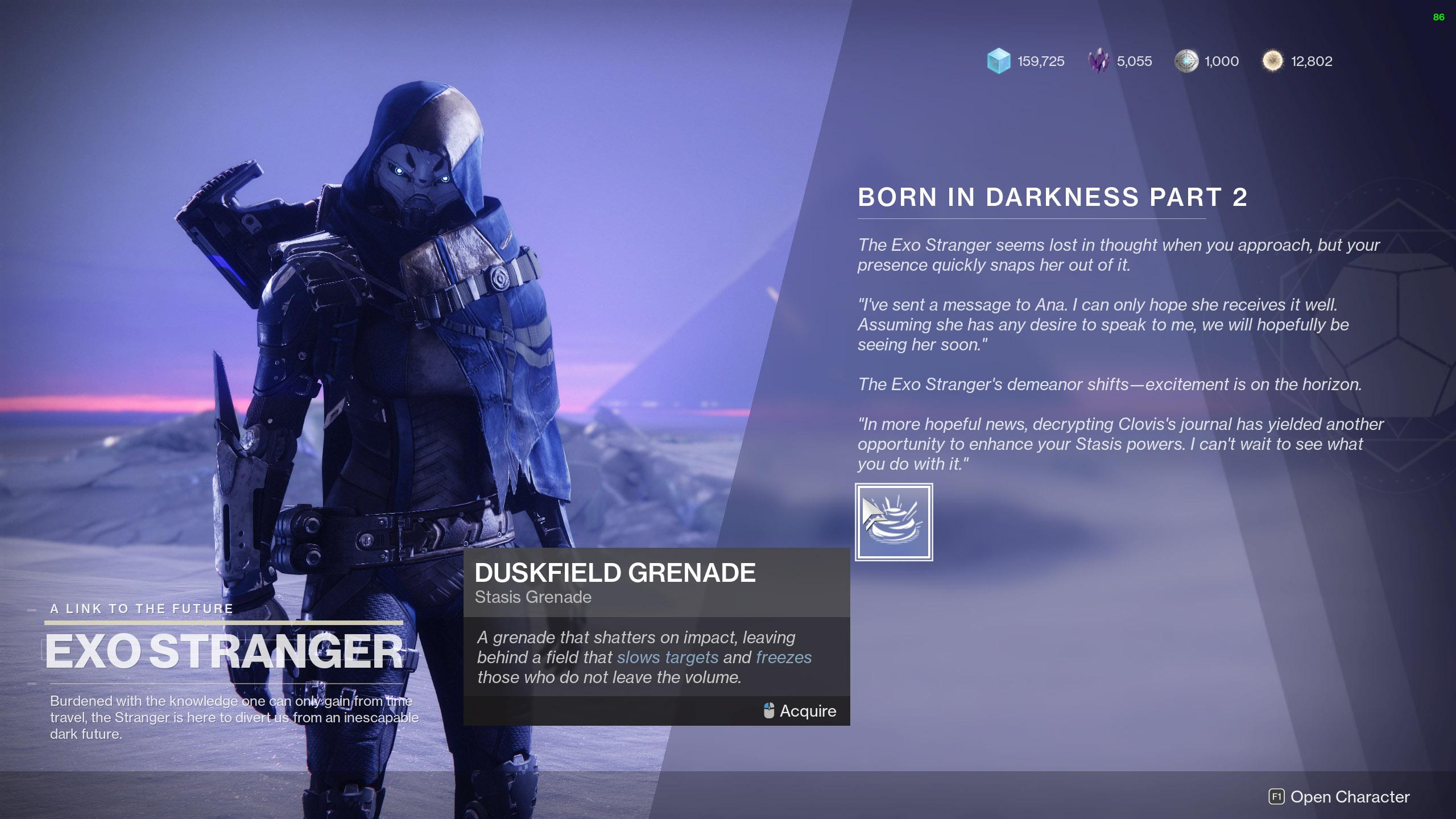 Destiny 2 Born in Darkness Part 2 Граната из Сумеречного поля