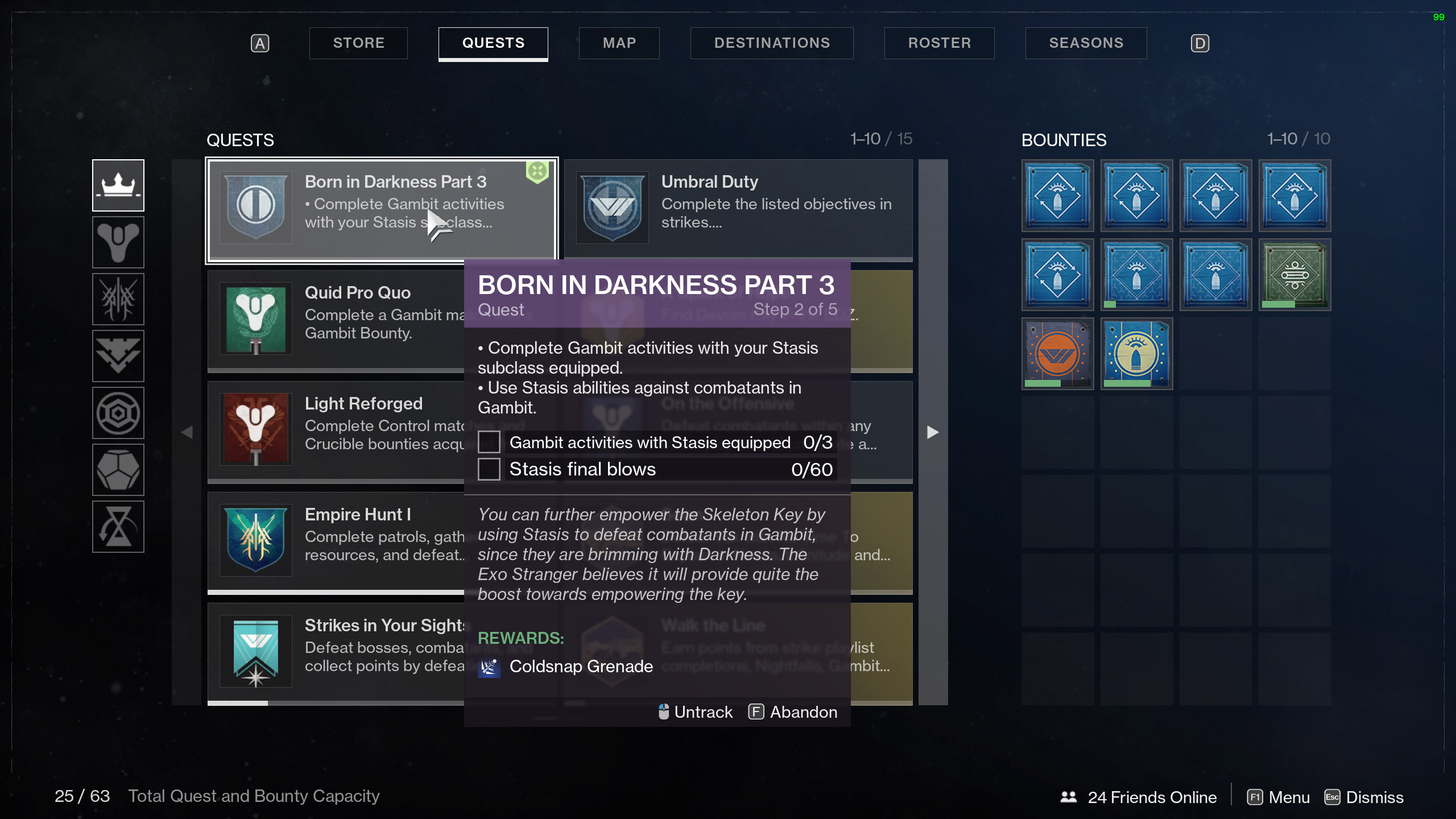 Destiny 2 Born in Darkness Part 3 Gambit