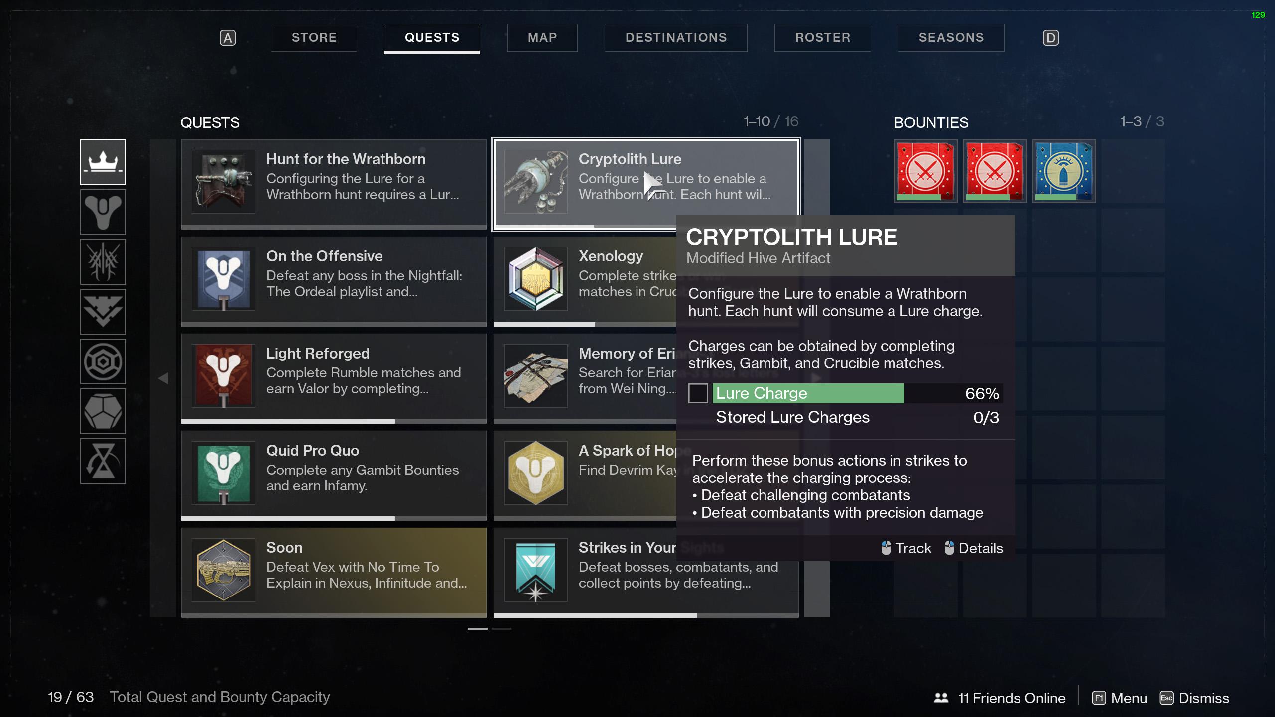 destiny 2 configure lure