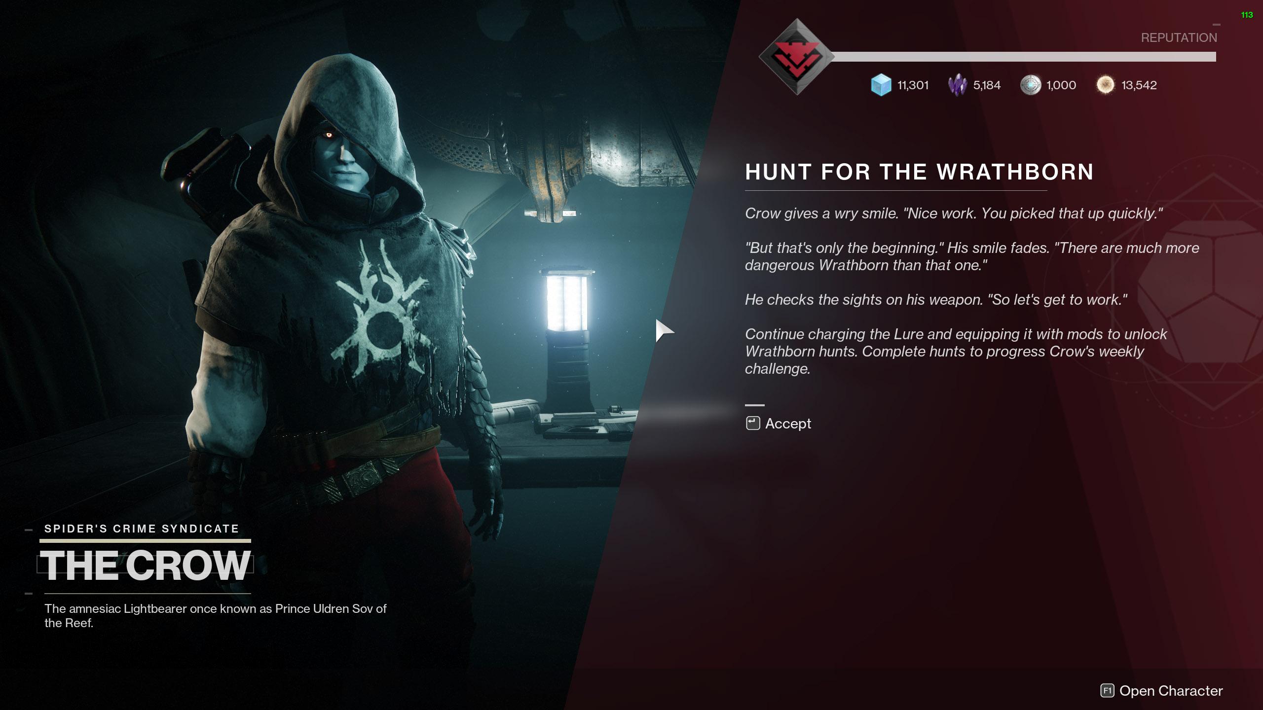 destiny 2 season of the hunt quest