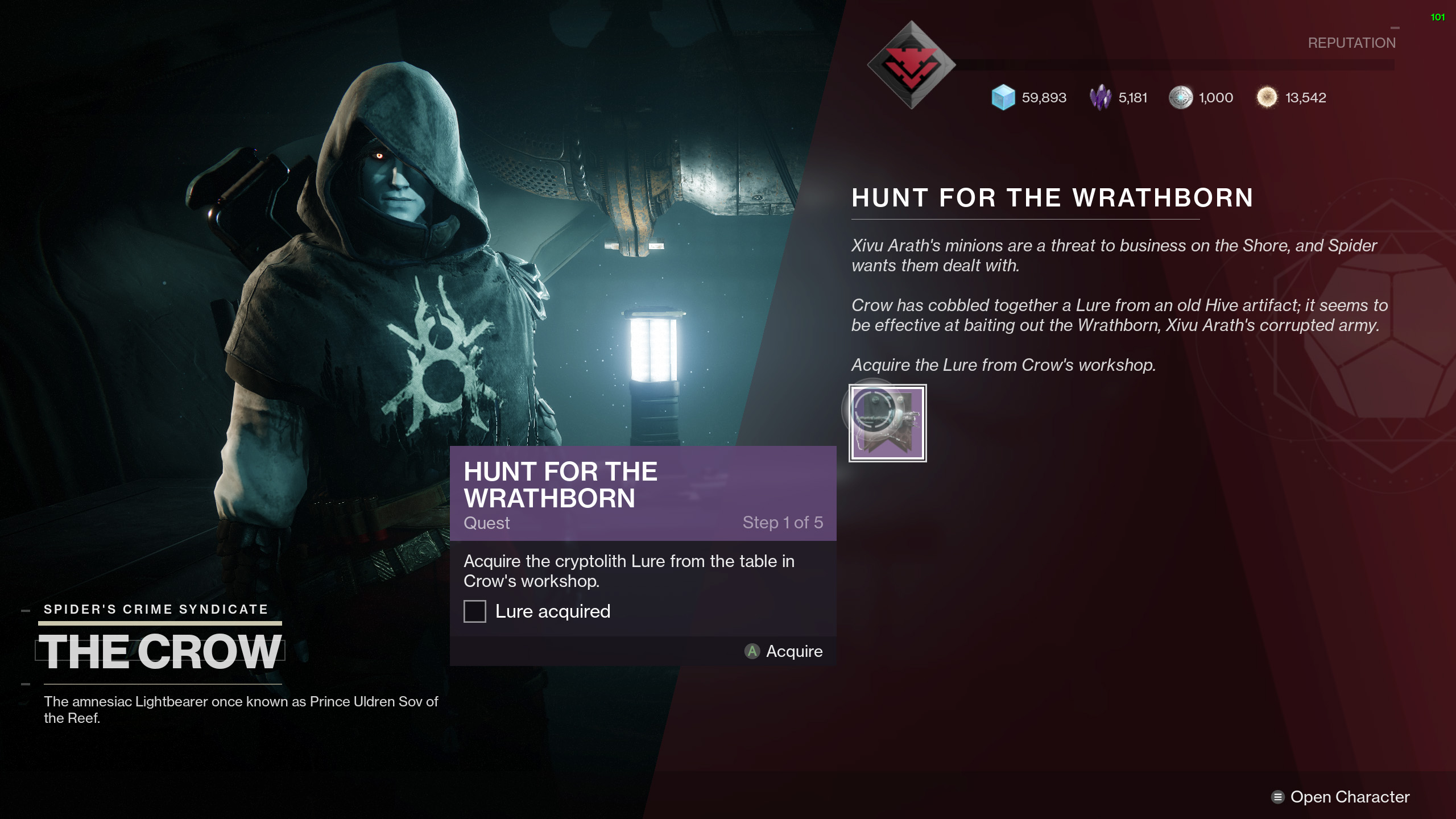 Destiny 2 Hunt for the Wrathborn