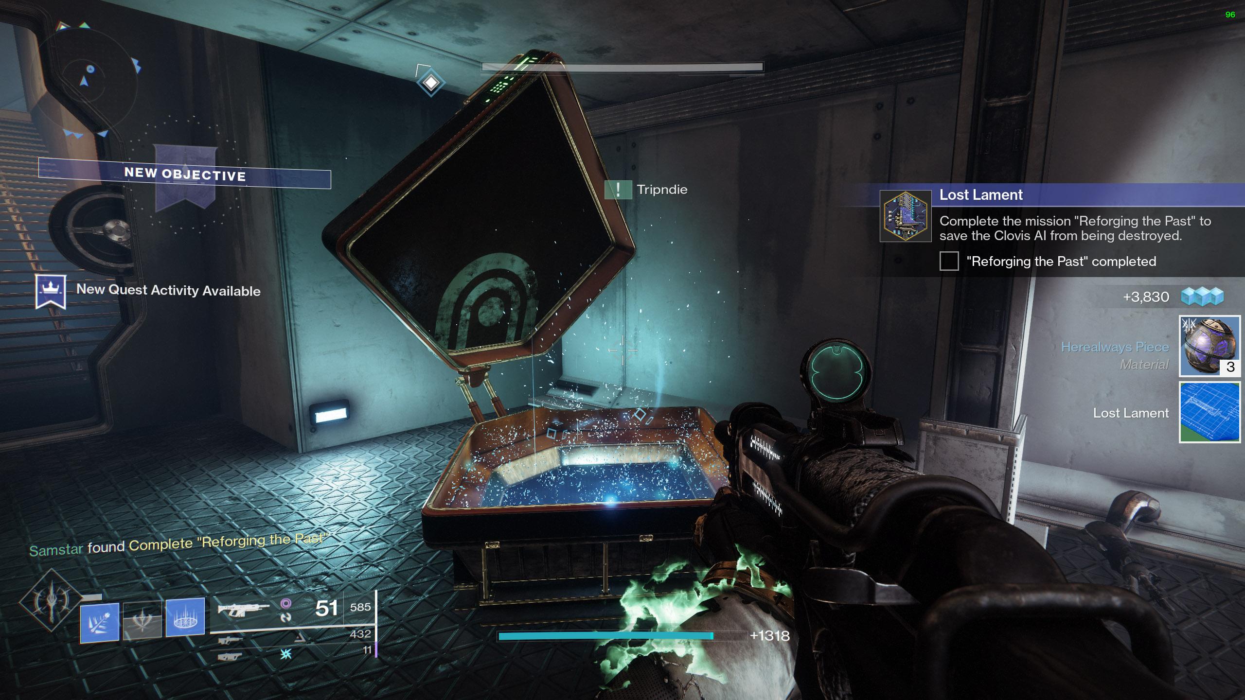 destiny 2 lost lament hidden bunker