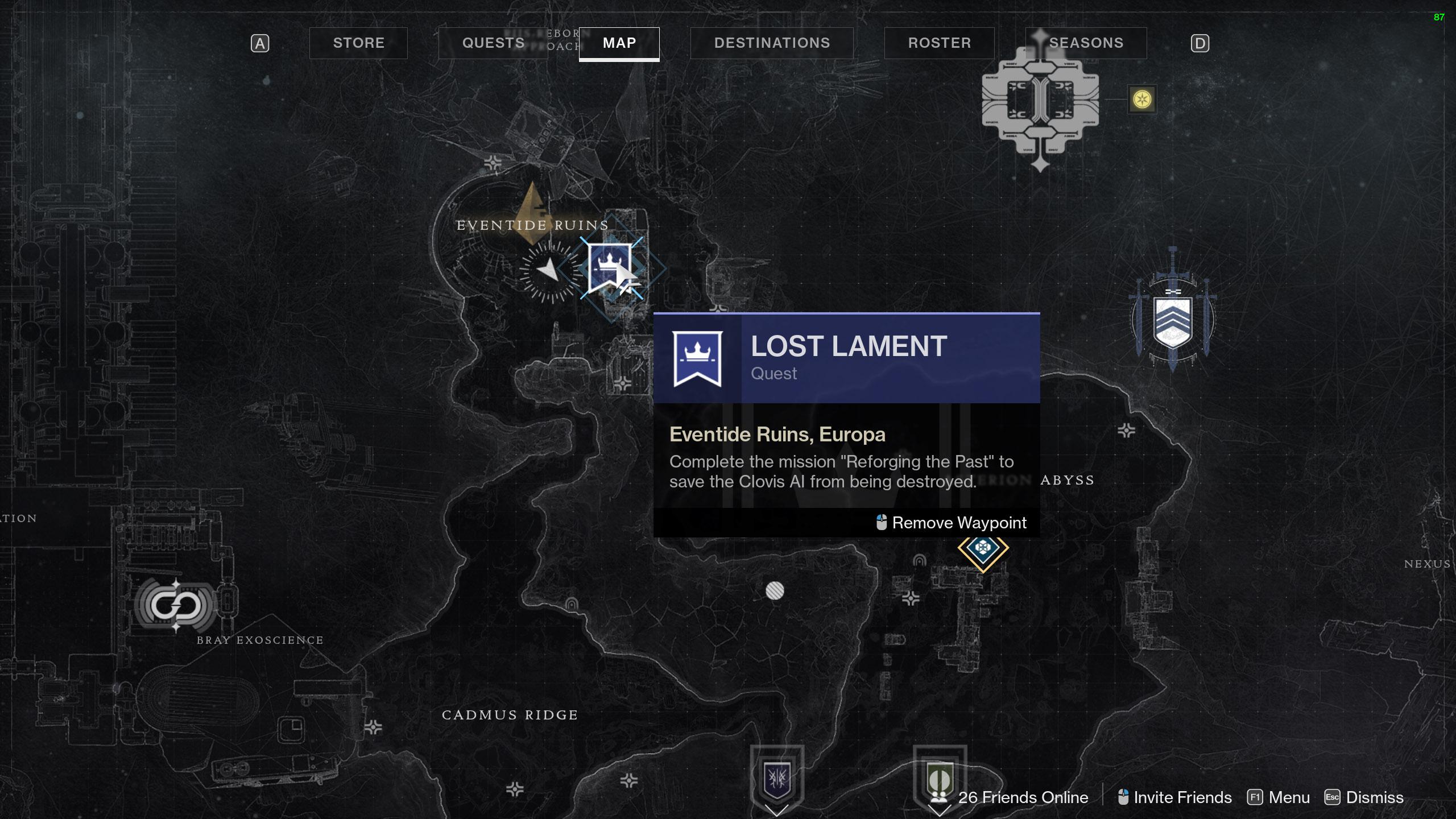 destiny 2 lost lament reforging the past