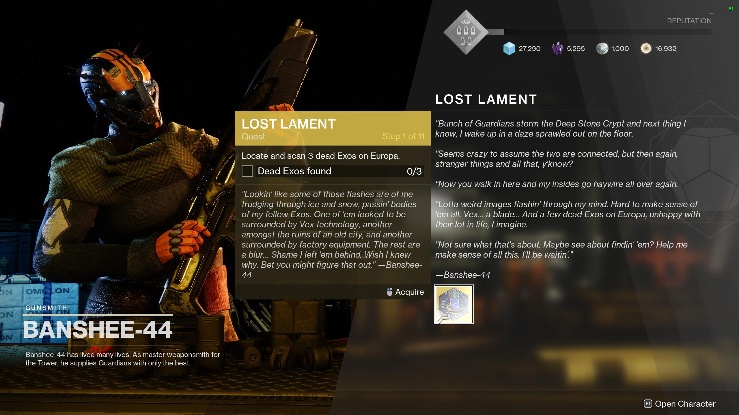 destiny 2 lost lament