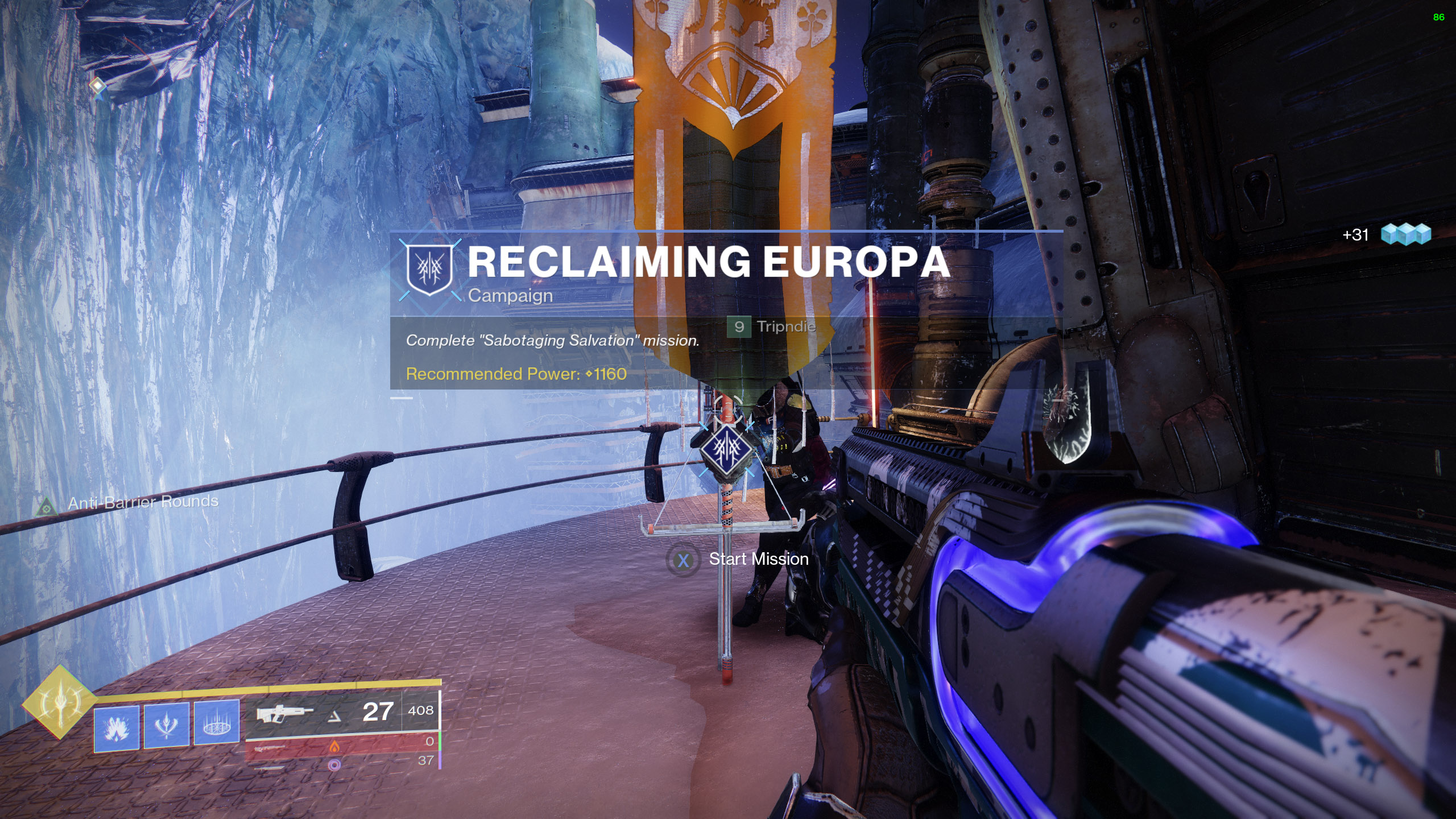 destiny 2 reclaiming europa sabotaging salvation