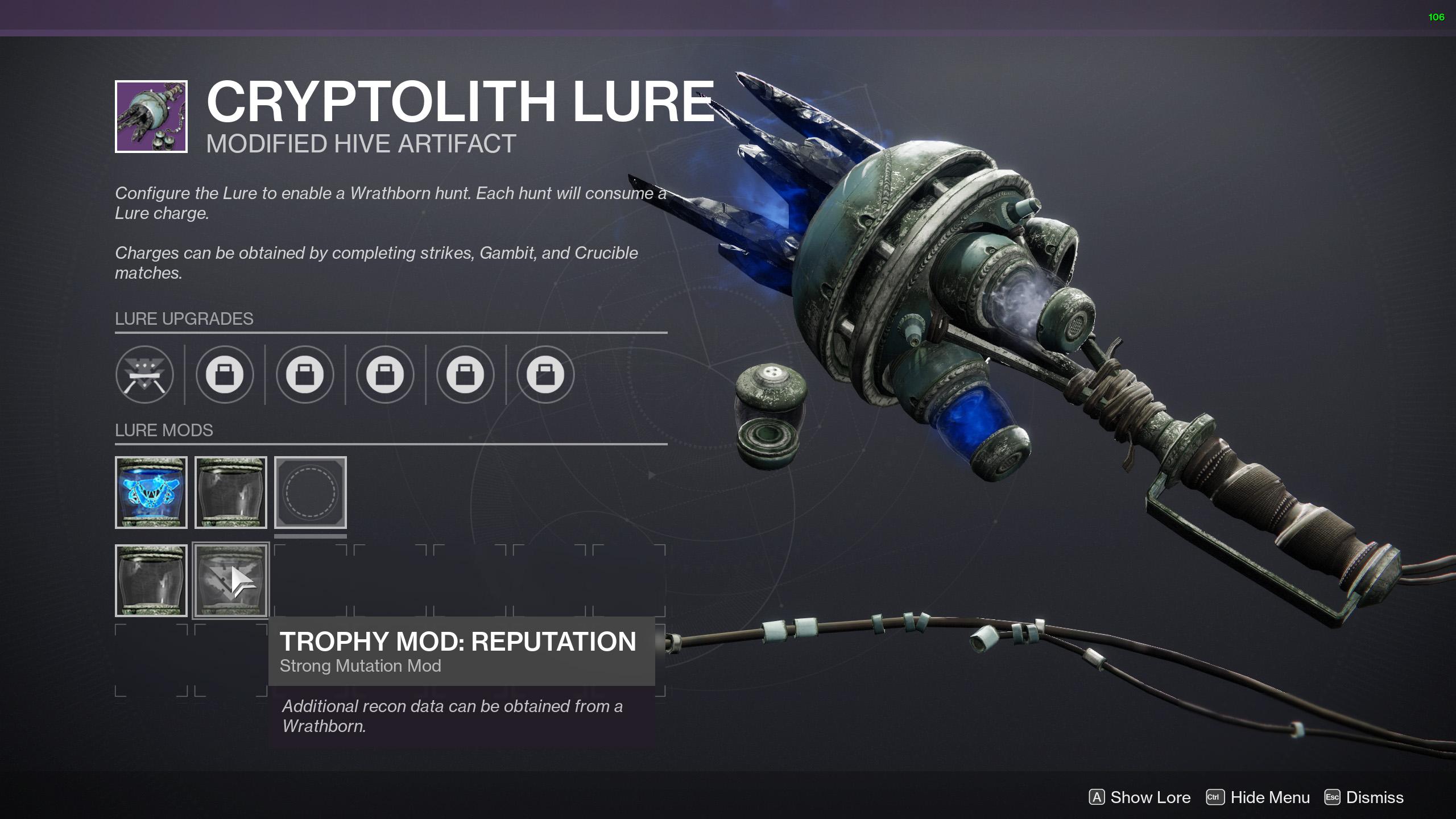 destiny 2 recon data reputation boost