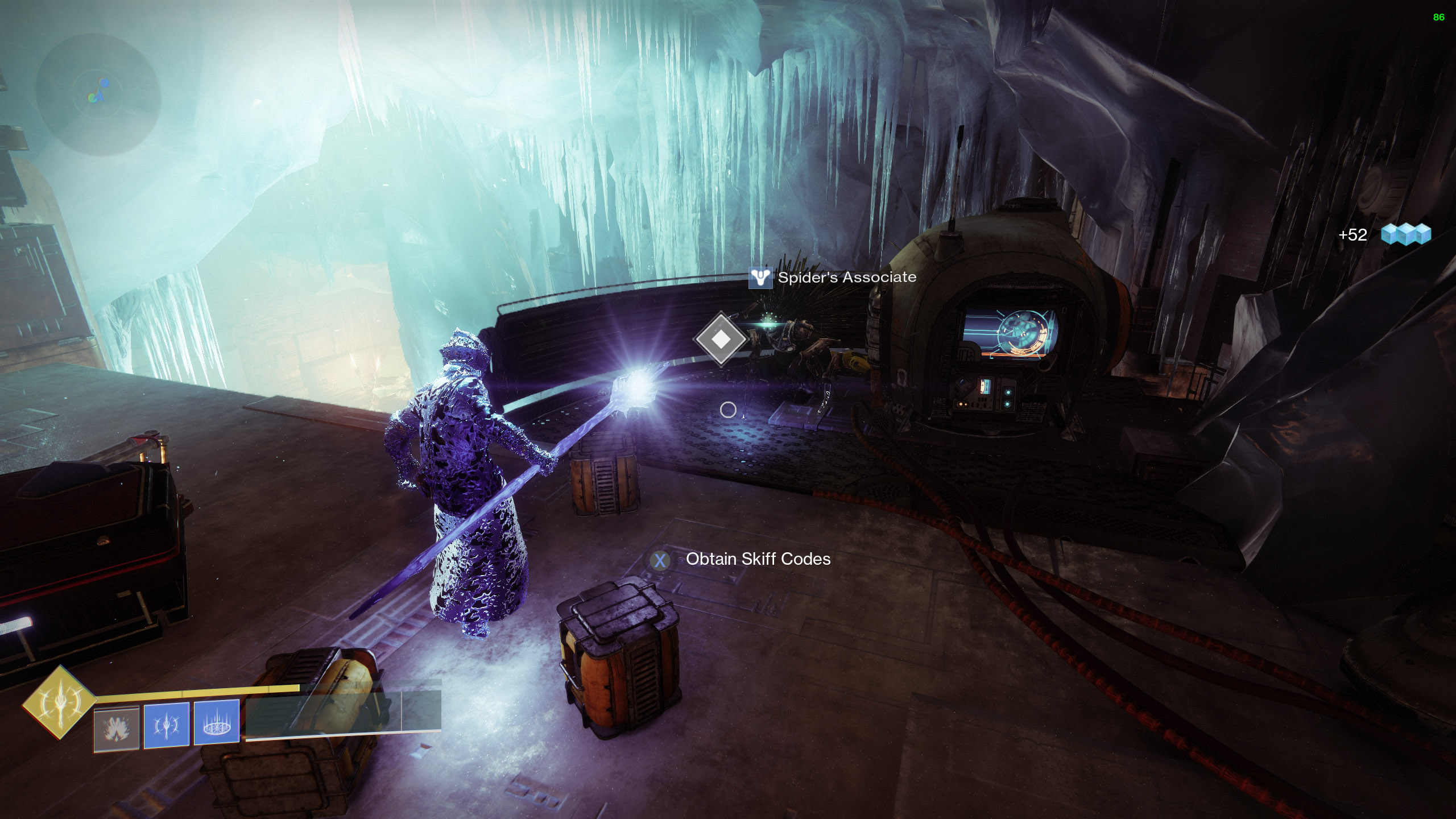 destiny 2 the stasis prototype concealed void spider's associate