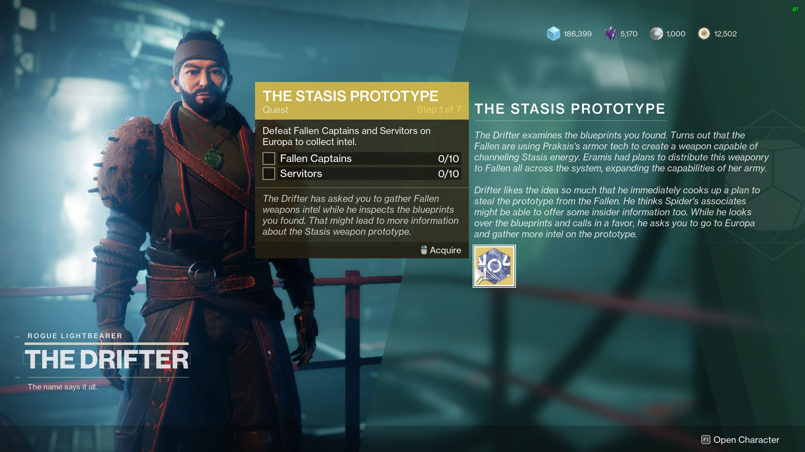 destiny 2 salvations grip the stasis prototype