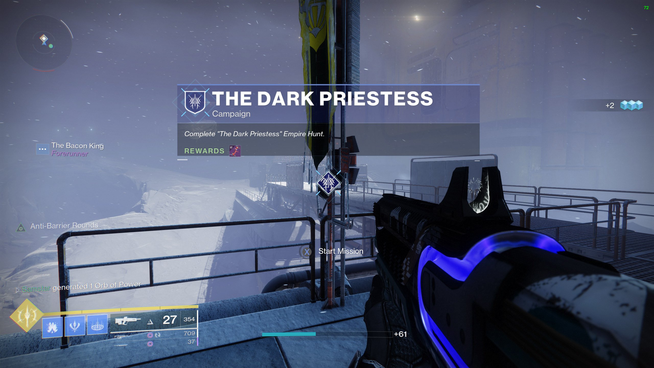 destiny 2 the dark priestess empire hunt