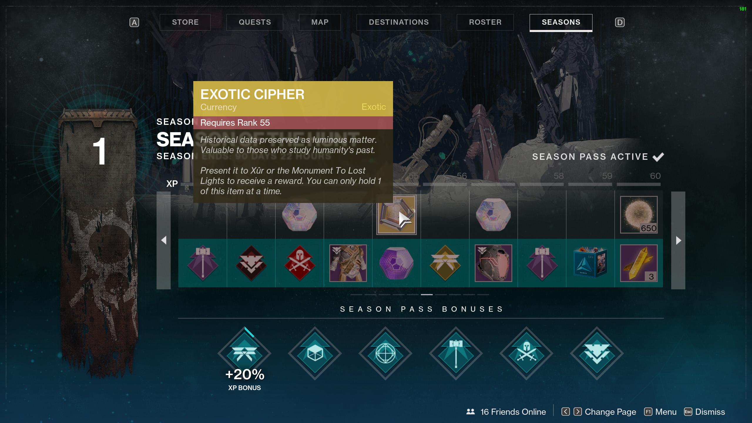 destiny 2 get exotic cipher