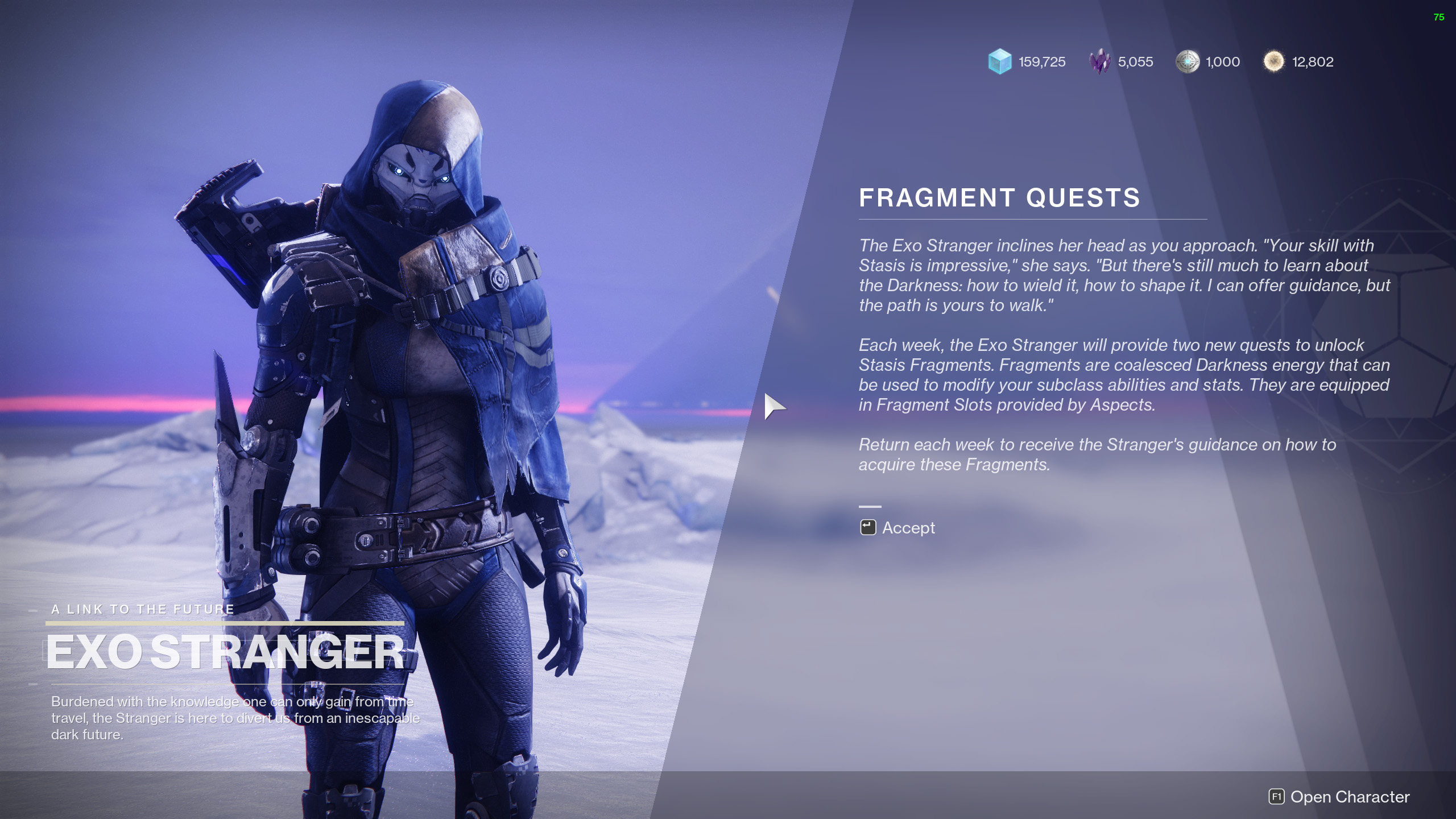 destiny 2 unlock fragments