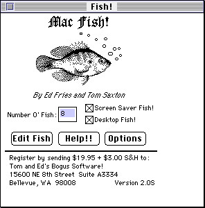 Fish! on Mac.