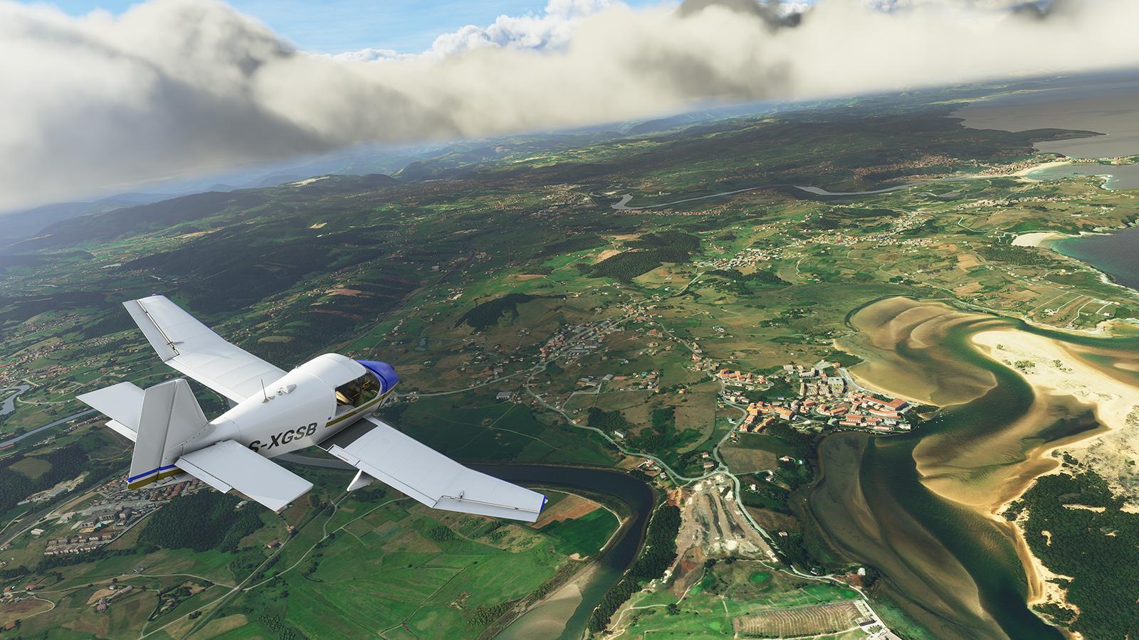 Microsoft Flight Simulator 2020.
