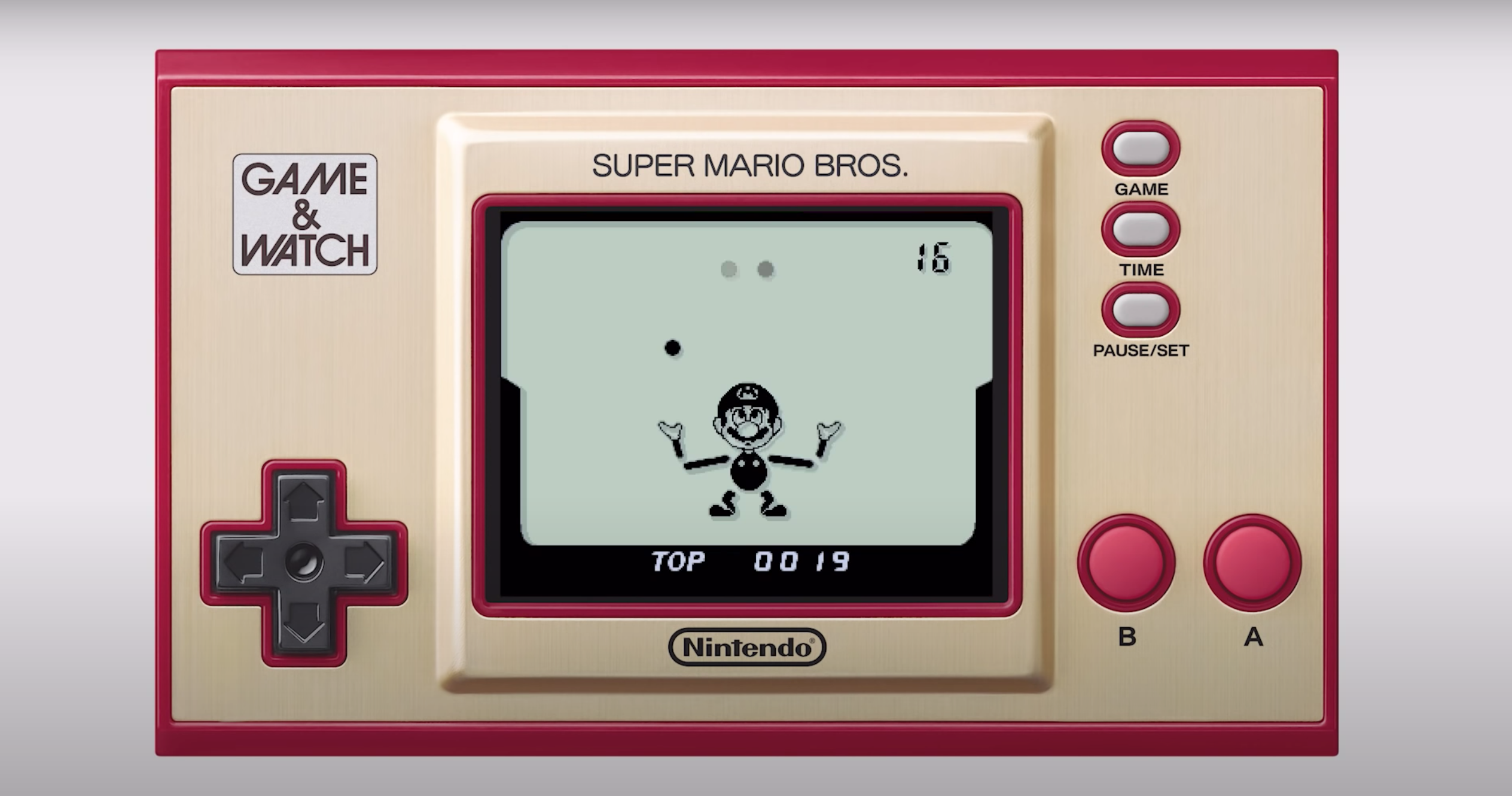 Game & Watch: Super Mario Bros. will make a great addition to your Nintendo collection.